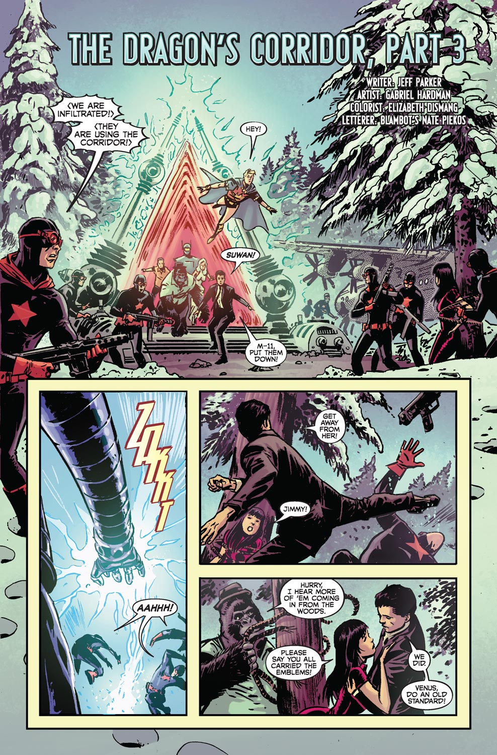 Read online Agents Of Atlas (2009) comic -  Issue #4 - 4