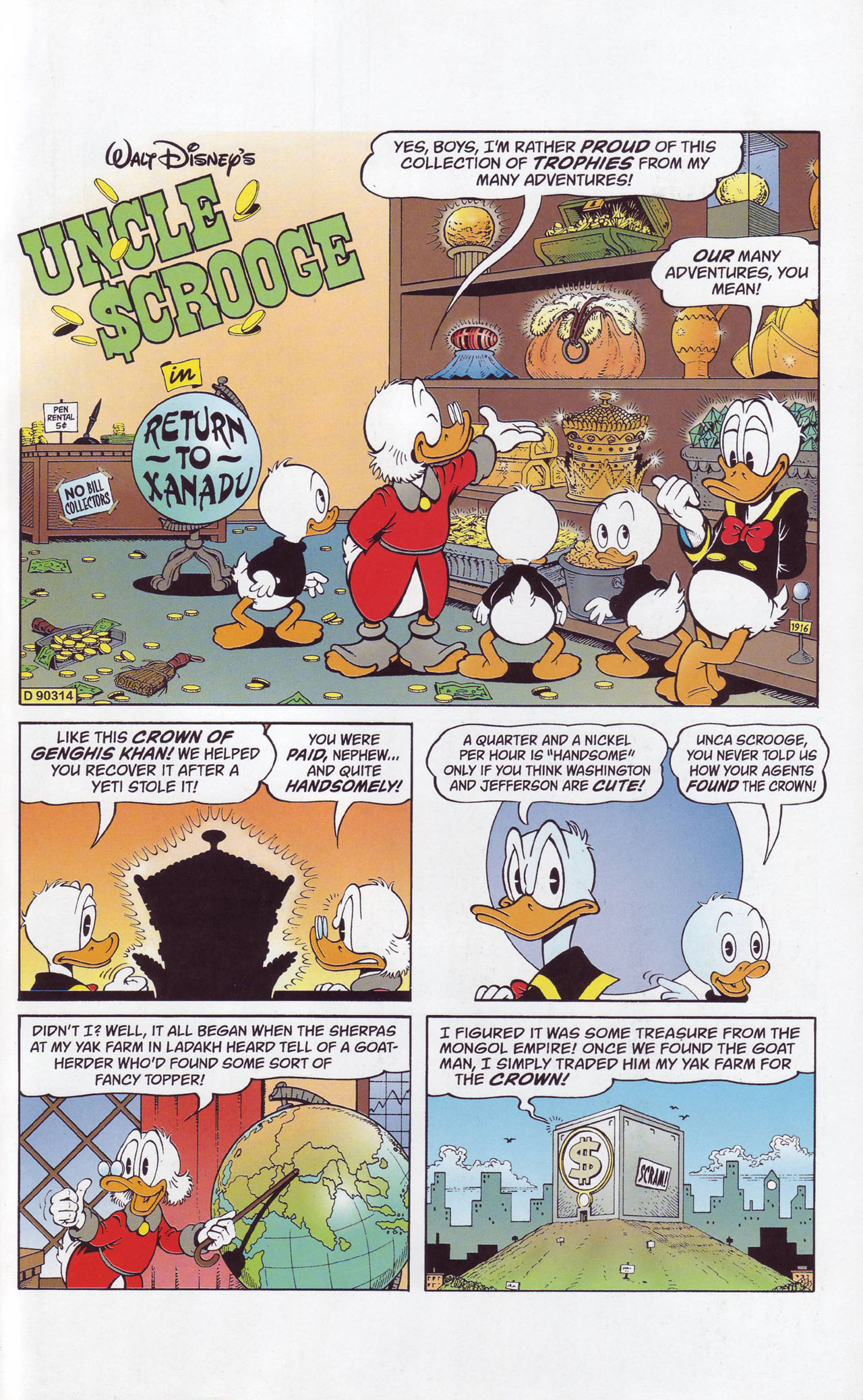 Read online Uncle Scrooge (1953) comic -  Issue #357 - 3