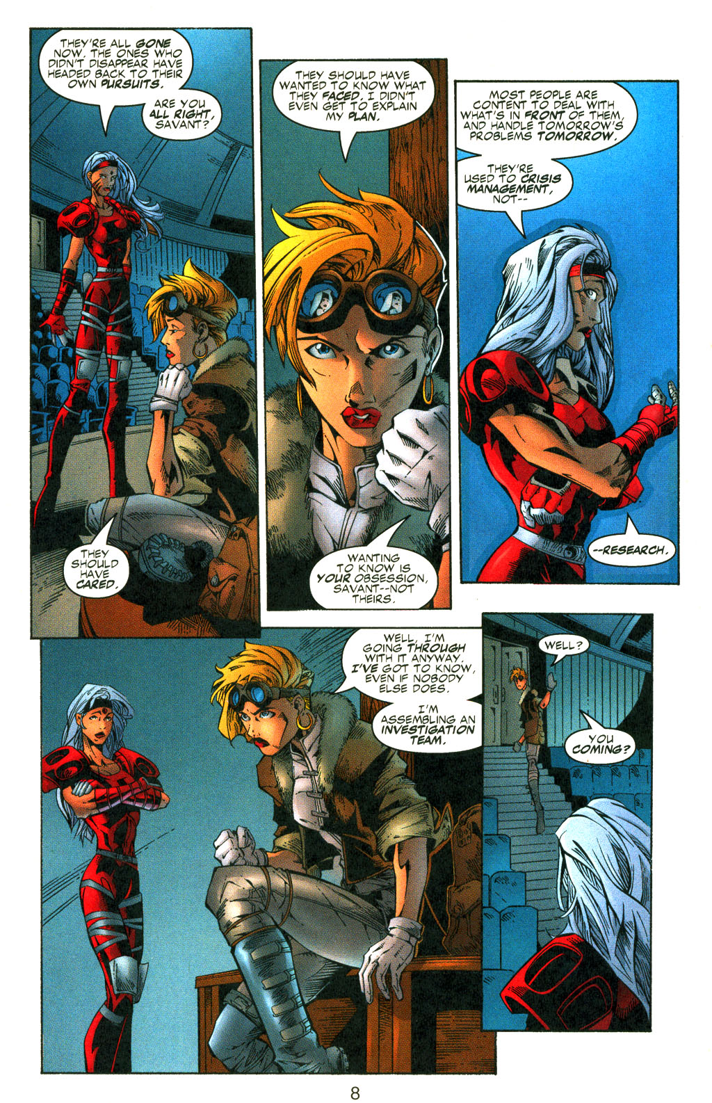 Read online Shattered Image comic -  Issue #2 - 8