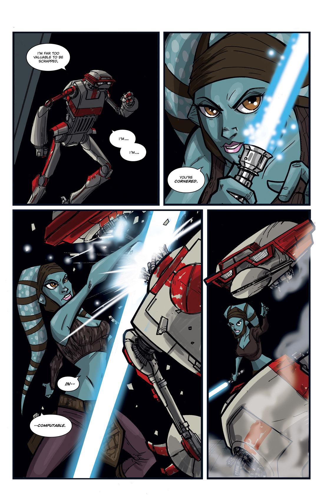 Read online Star Wars: Tales From The Clone Wars comic -  Issue # TPB - 93