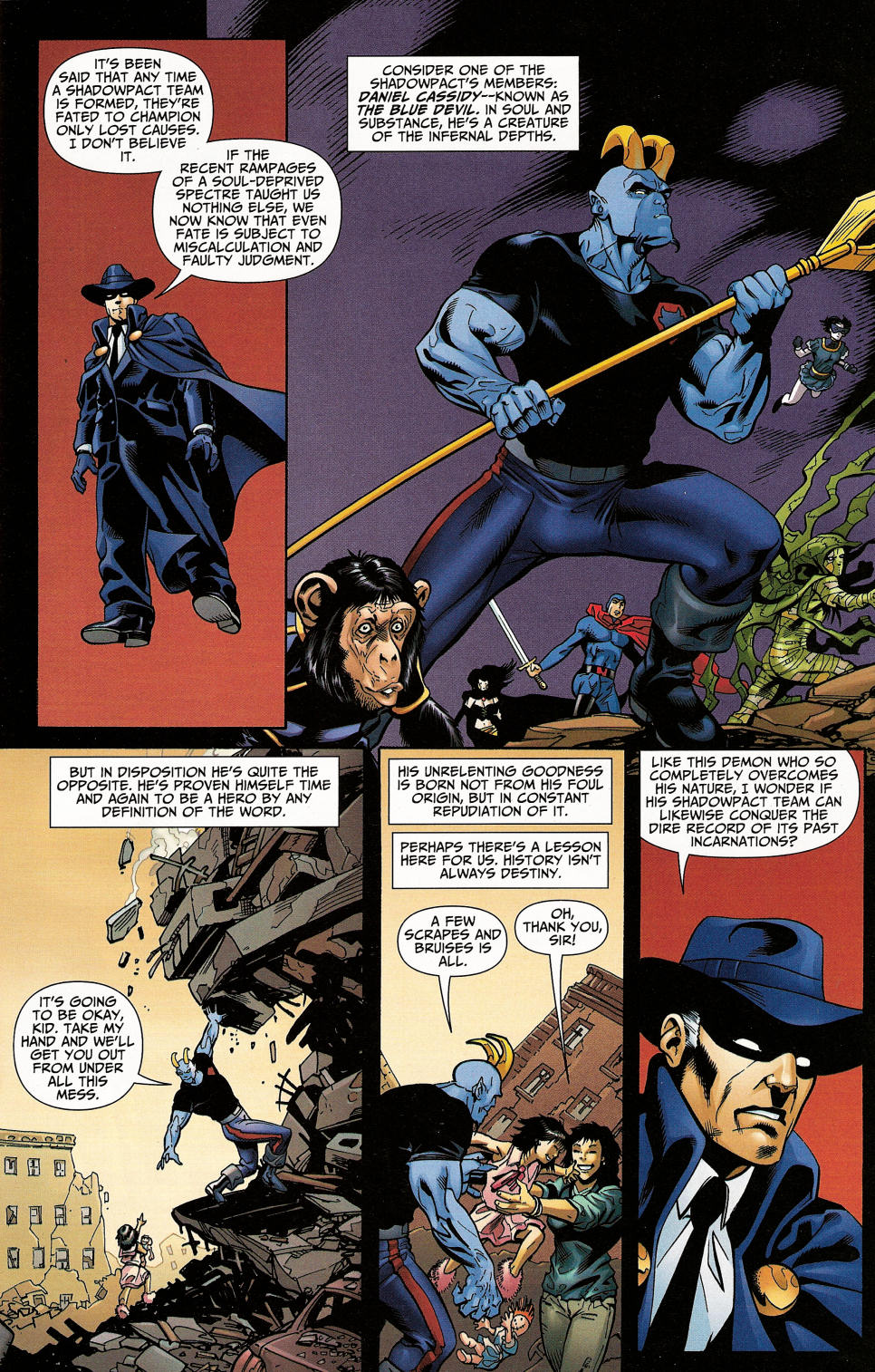 Read online Shadowpact comic -  Issue #4 - 3