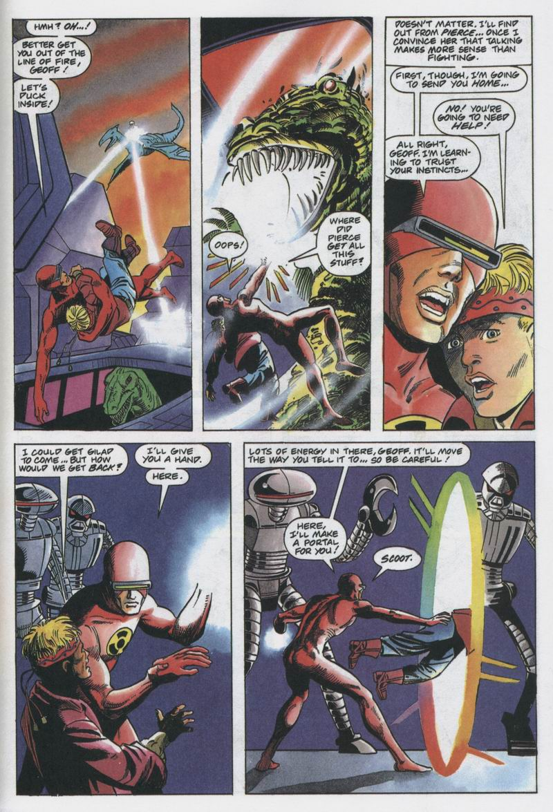 Read online Solar, Man of the Atom comic -  Issue #12 - 16