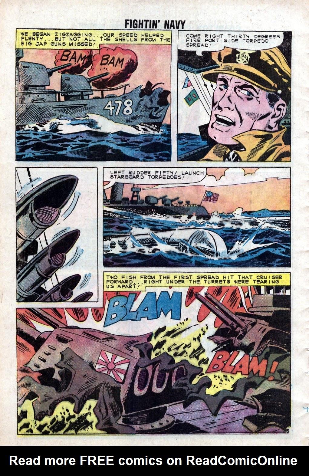 Read online Fightin' Navy comic -  Issue #94 - 8