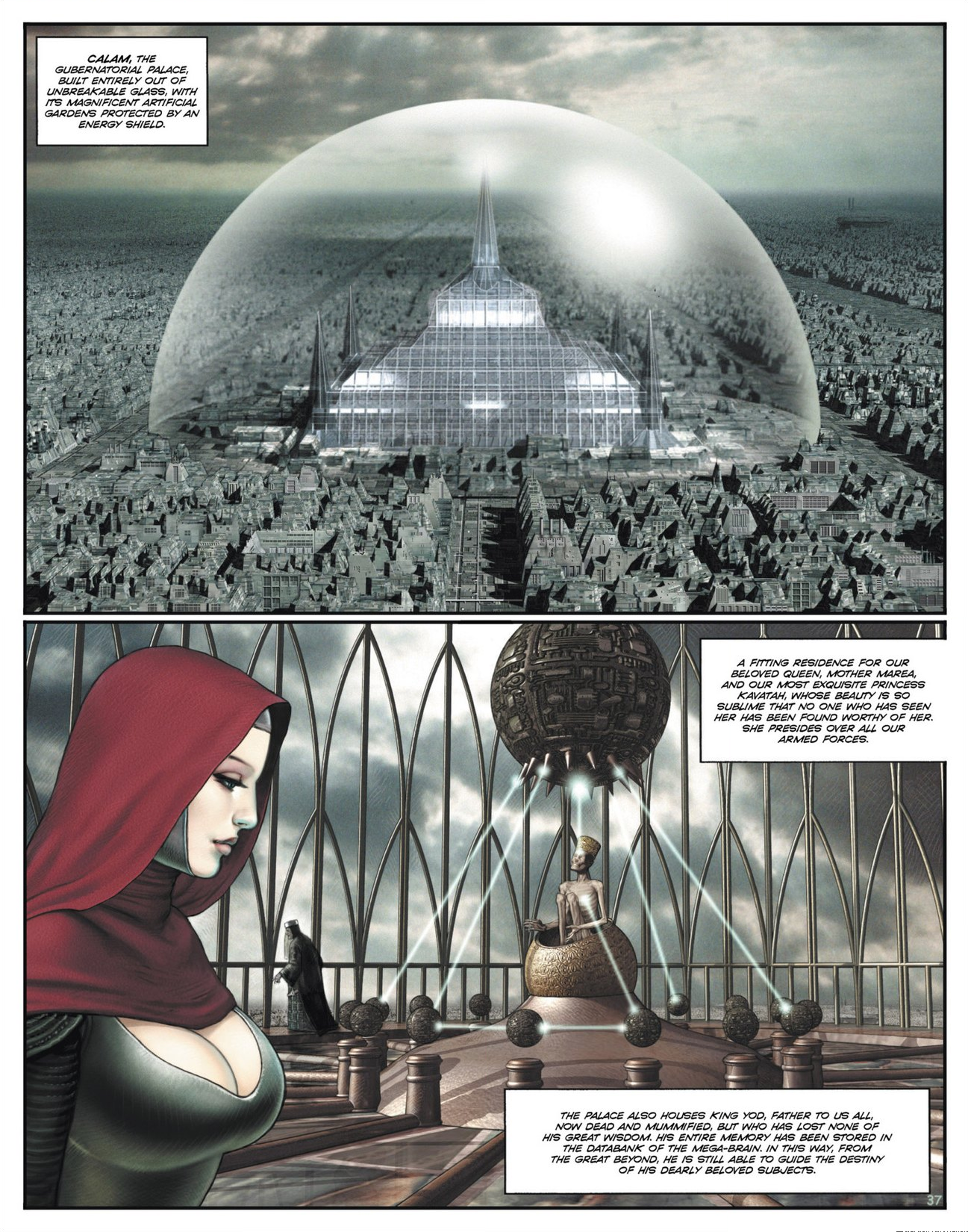 Read online Megalex (2014) comic -  Issue #1 - 42