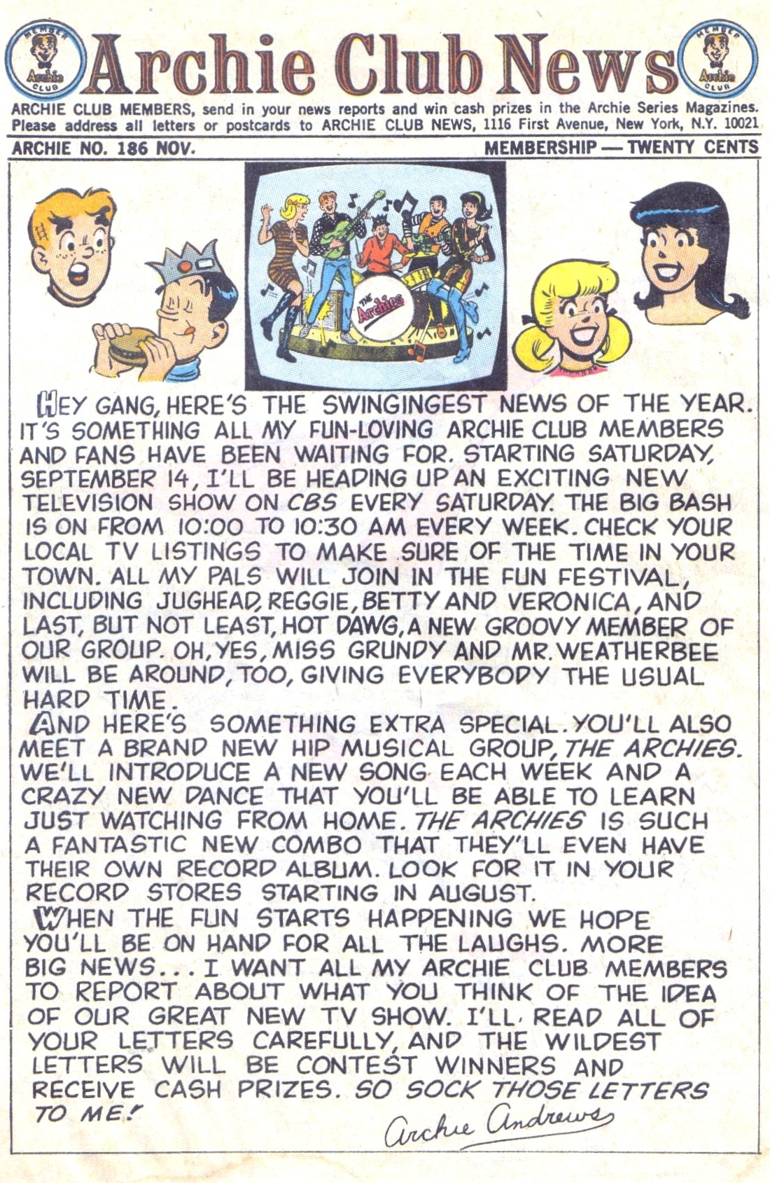 Read online Archie (1960) comic -  Issue #186 - 10