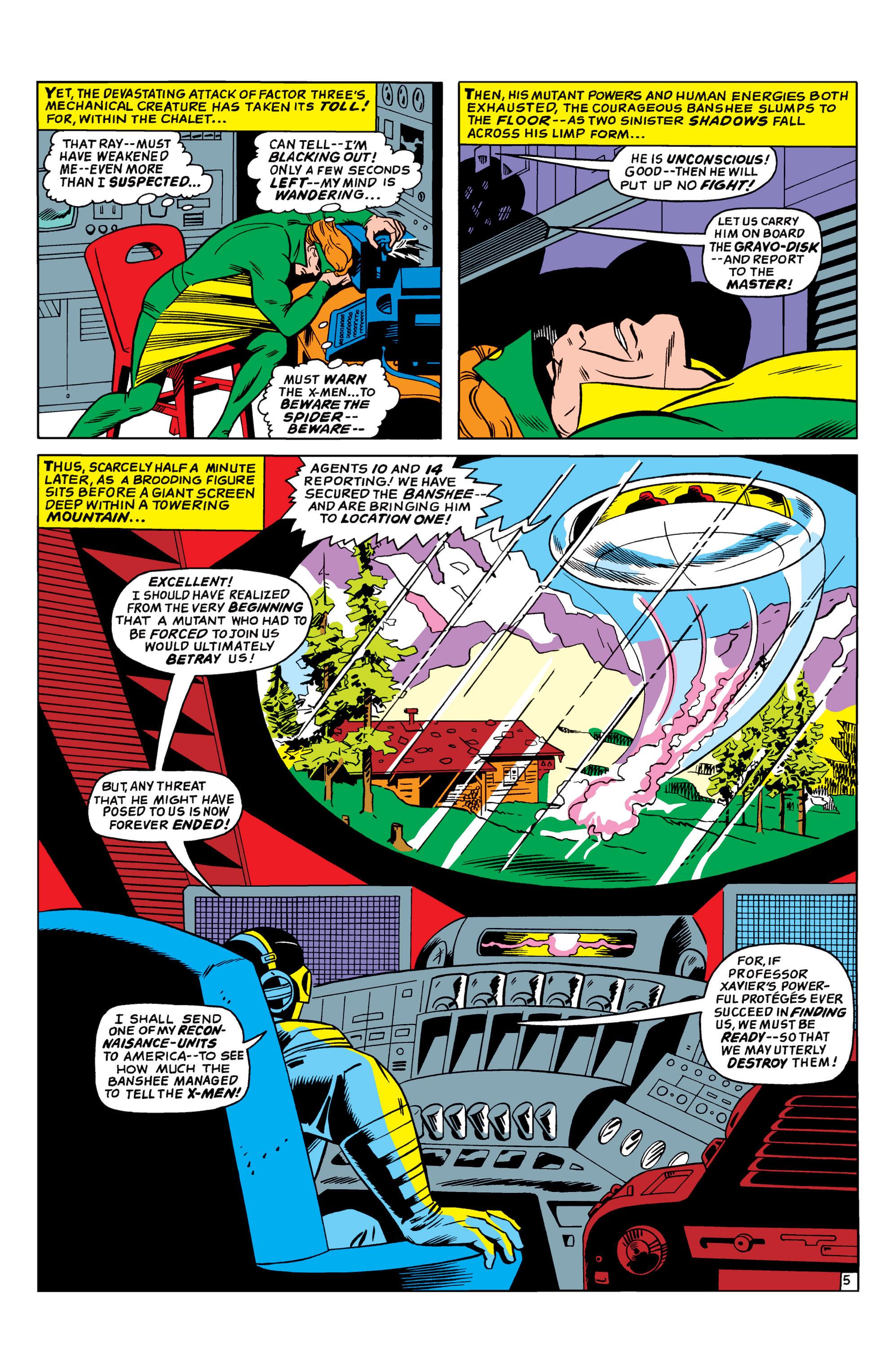 Uncanny X-Men (1963) 35 Page 5