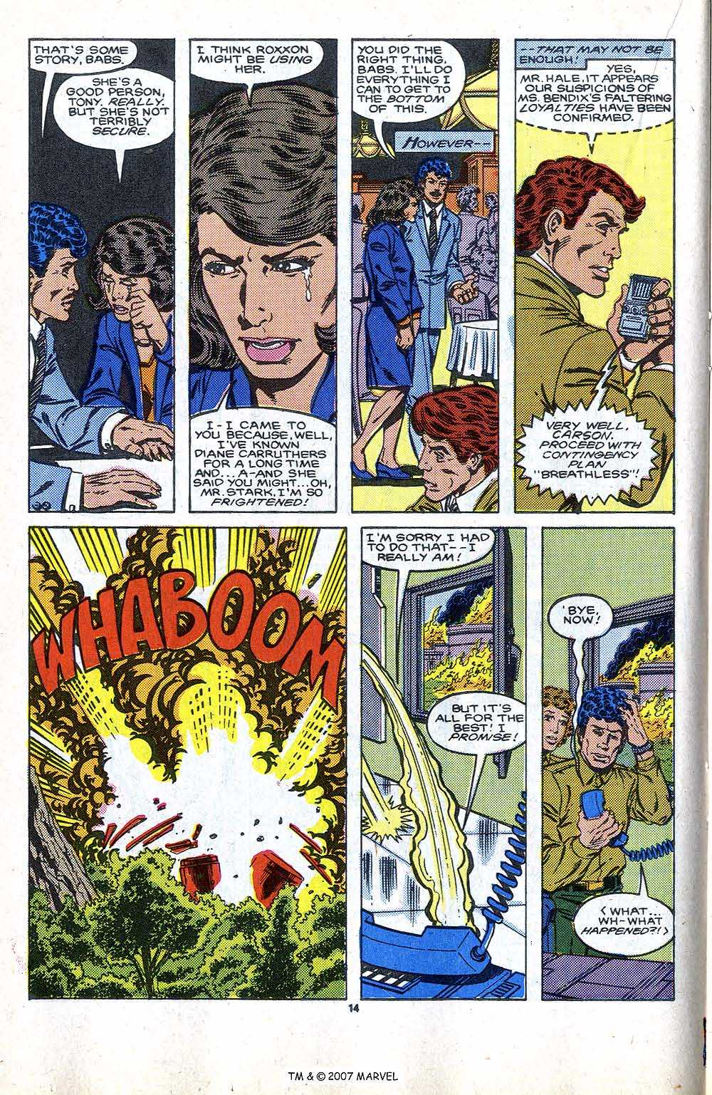 Iron Man Annual issue 9 - Page 18