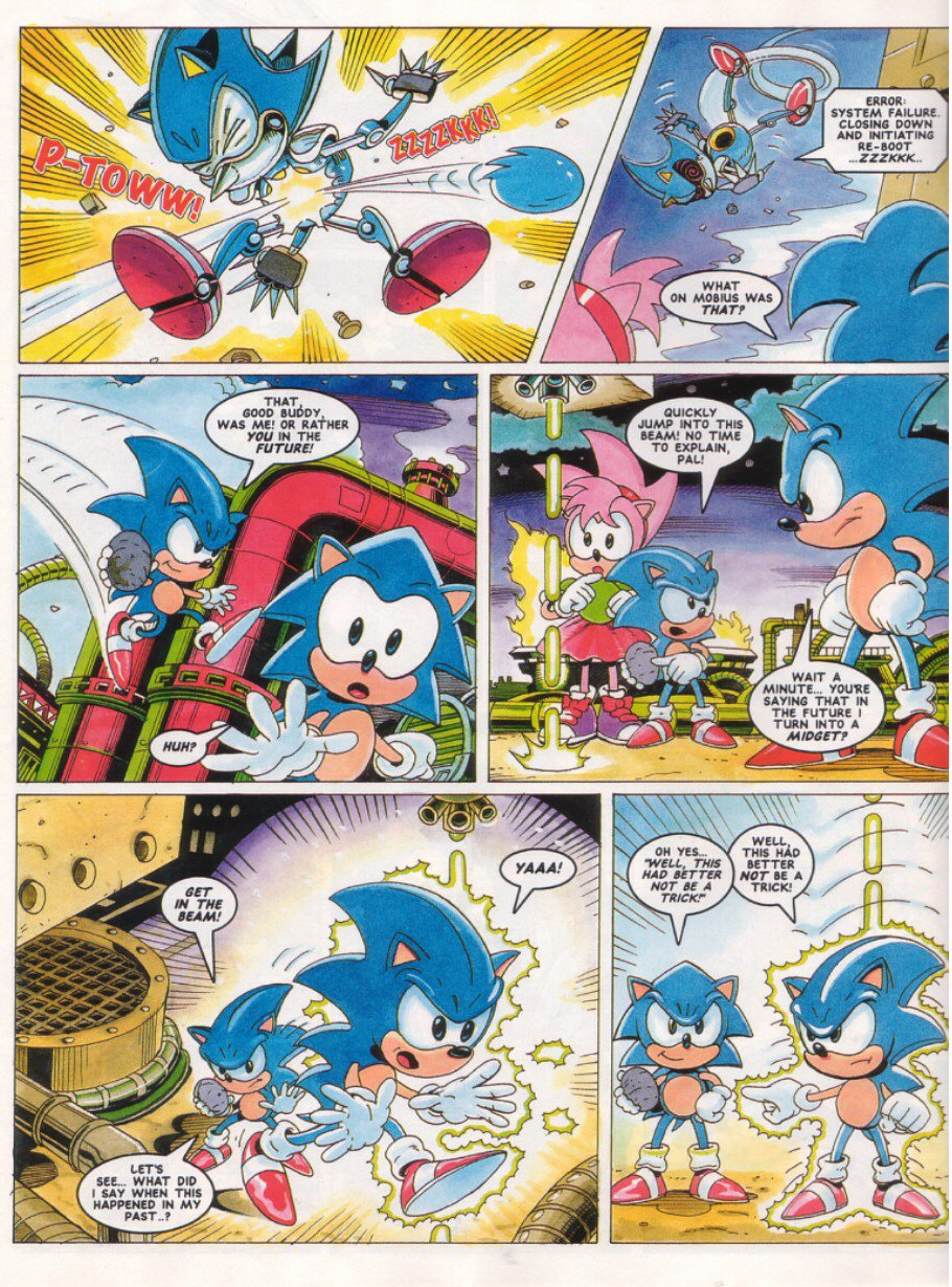 Read online Sonic the Comic comic -  Issue #27 - 8