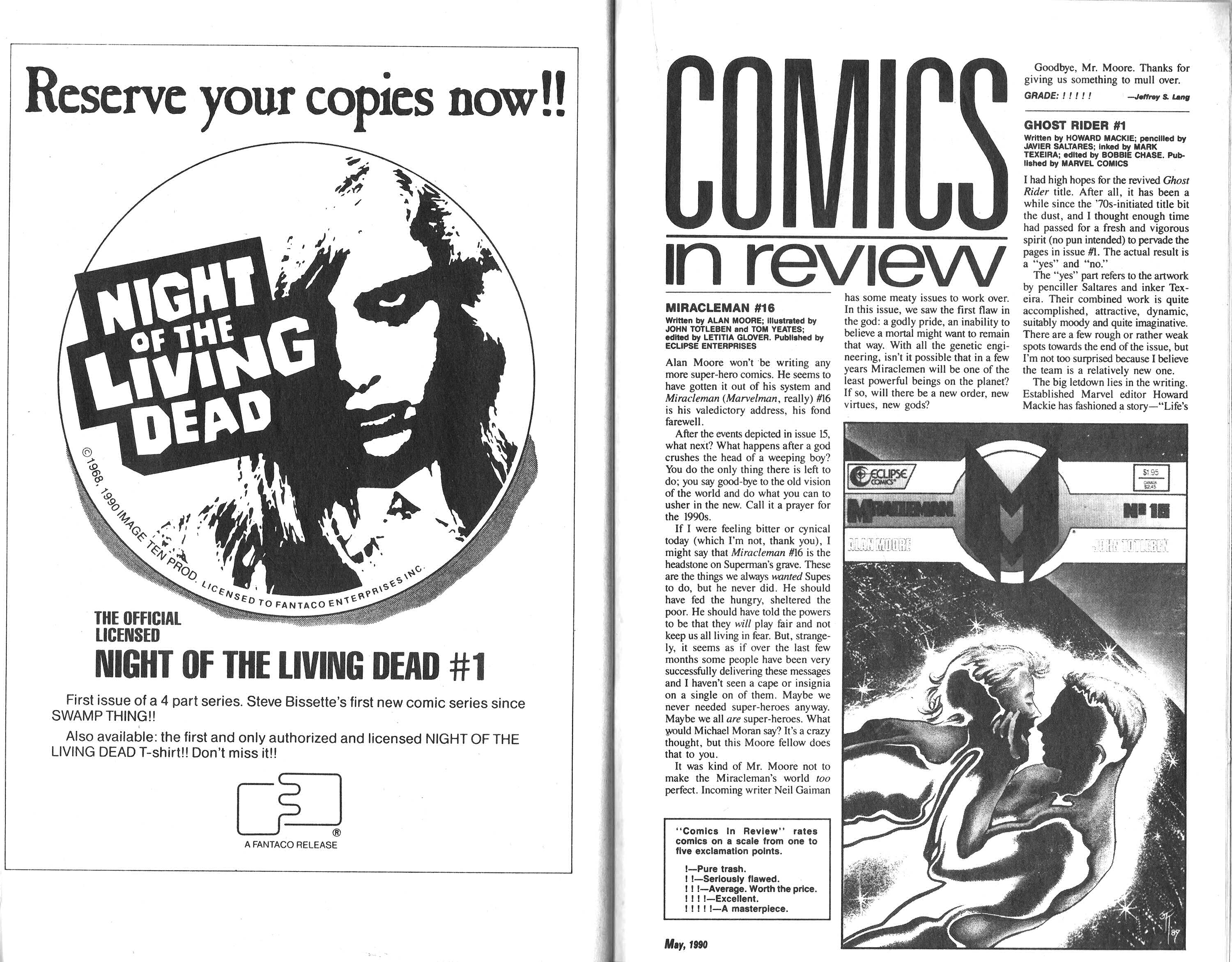 Read online Amazing Heroes comic -  Issue #179 - 38
