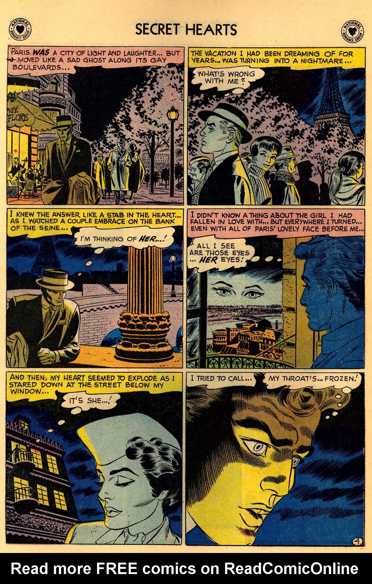 Read online Secret Hearts comic -  Issue #55 - 6