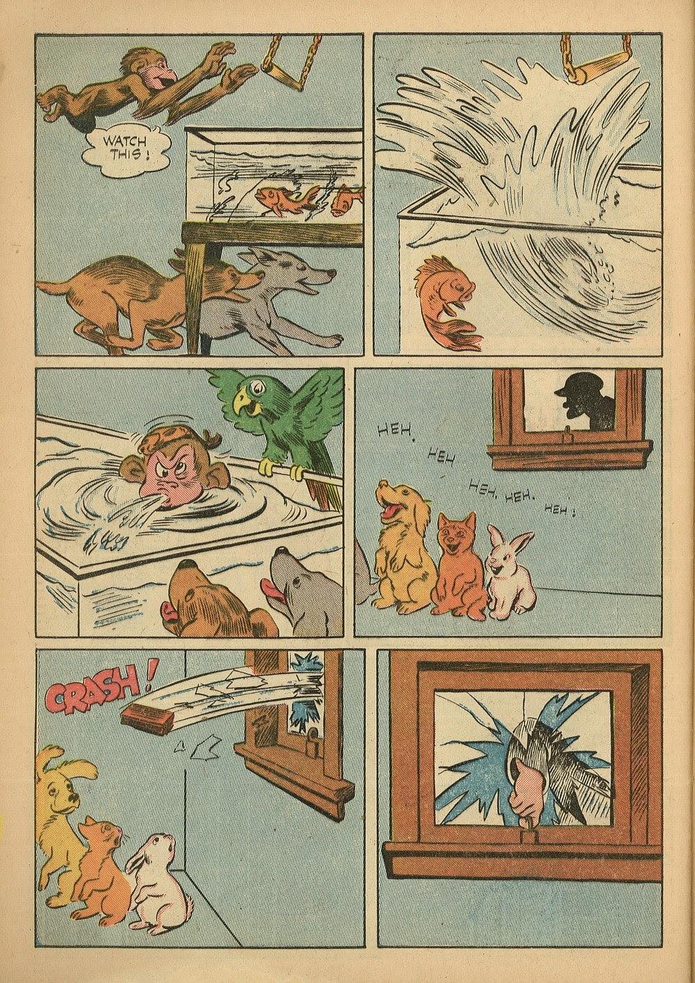 Read online Animal Comics comic -  Issue #24 - 46