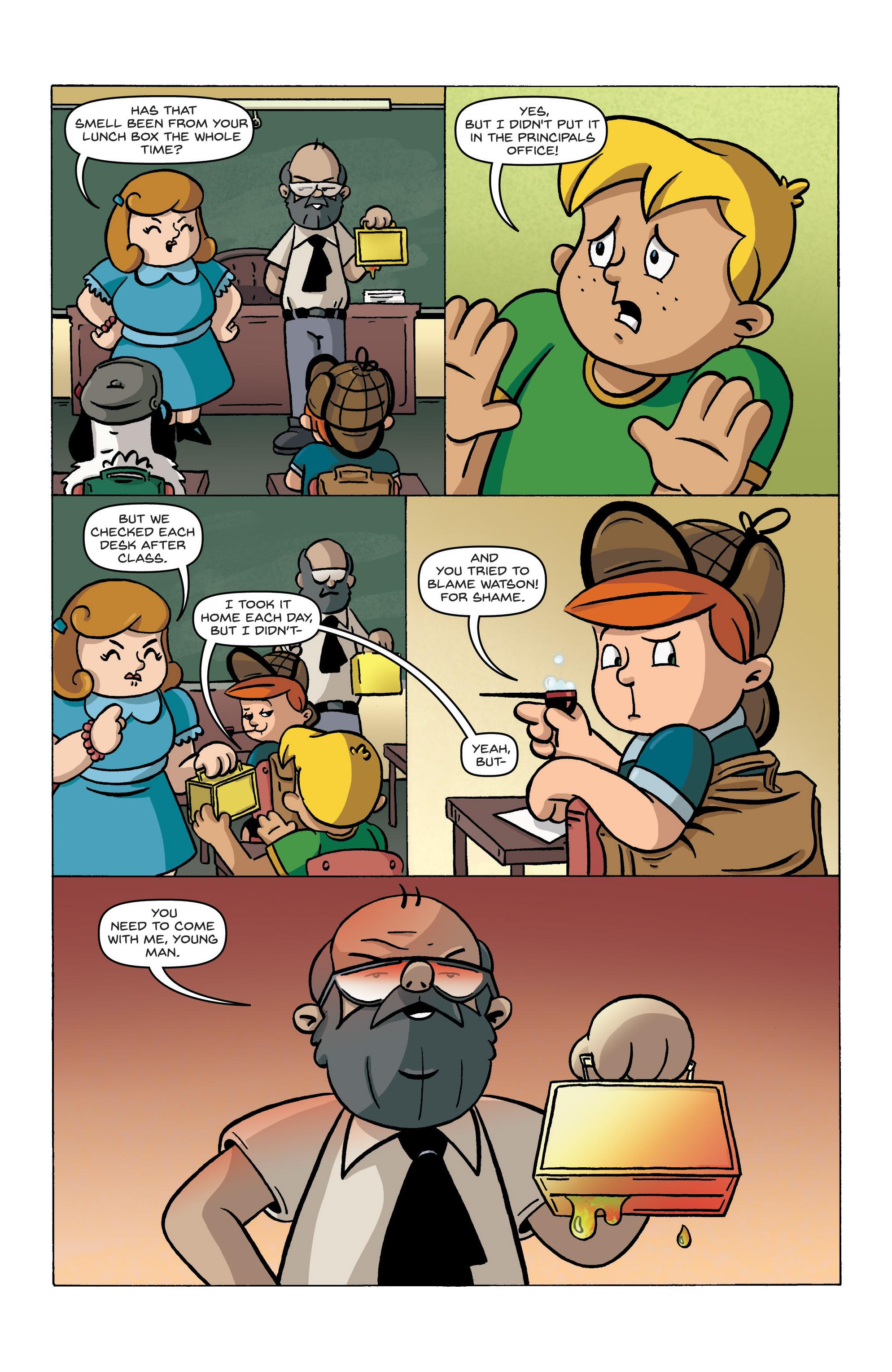 Read online Kid Sherlock comic -  Issue #1 - 20