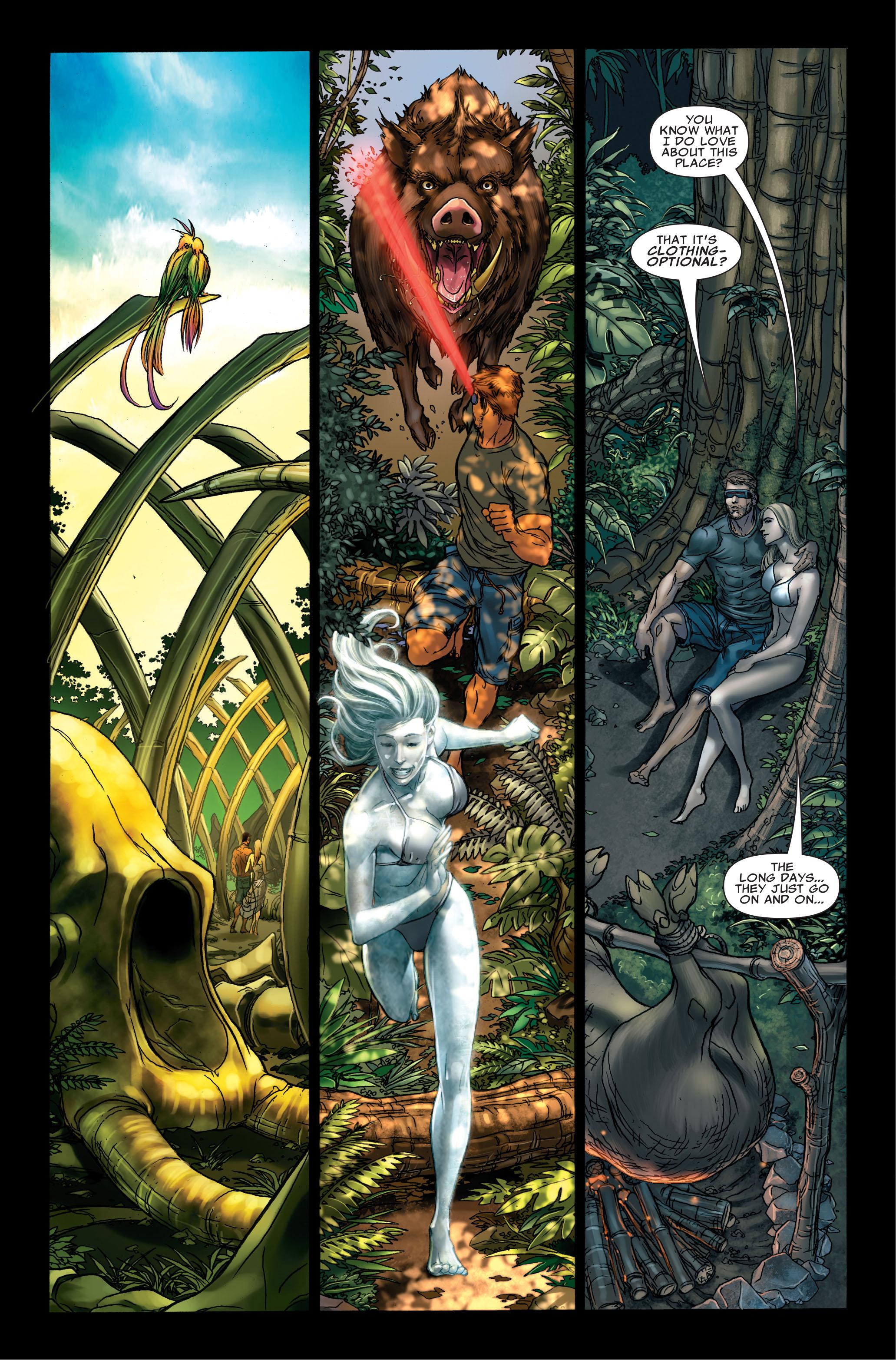 Read online Uncanny X-Men (1963) comic -  Issue #495 - 11