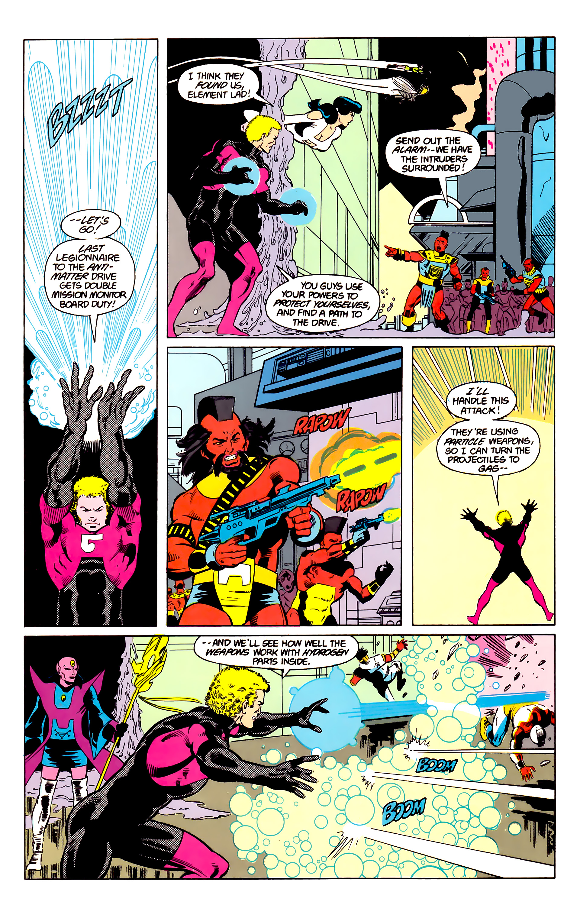 Legion of Super-Heroes (1984) 20 Page 15