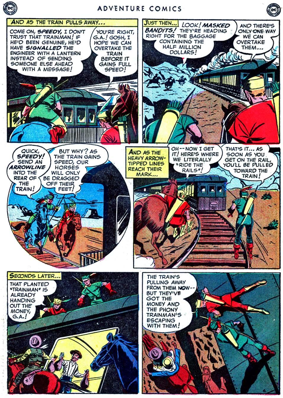 Read online Adventure Comics (1938) comic -  Issue #163 - 44