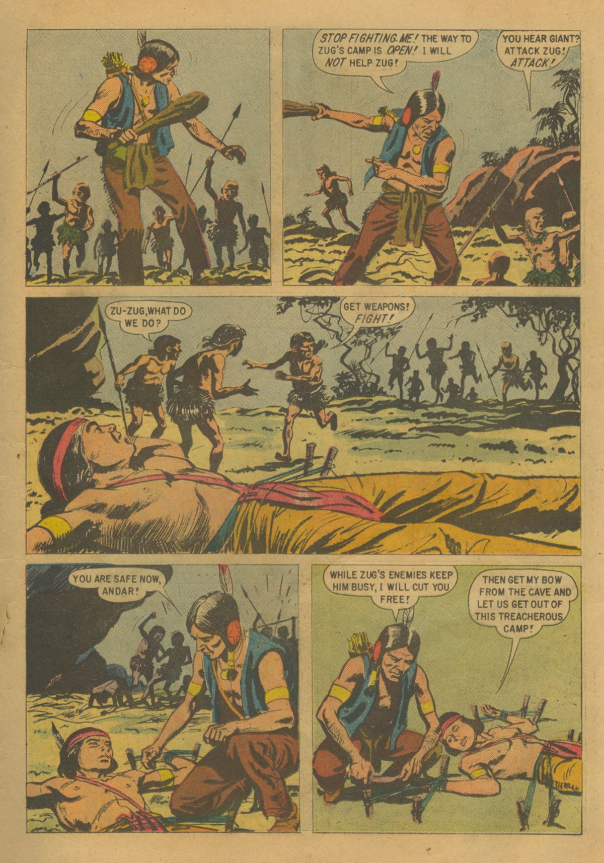 Read online Turok, Son of Stone comic -  Issue #17 - 15