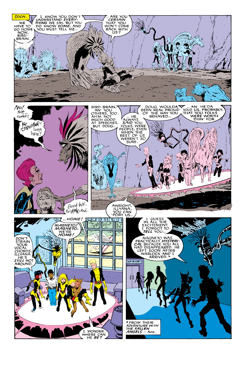 Read online X-Men Milestones: Fall of the Mutants comic -  Issue # TPB (Part 2) - 63