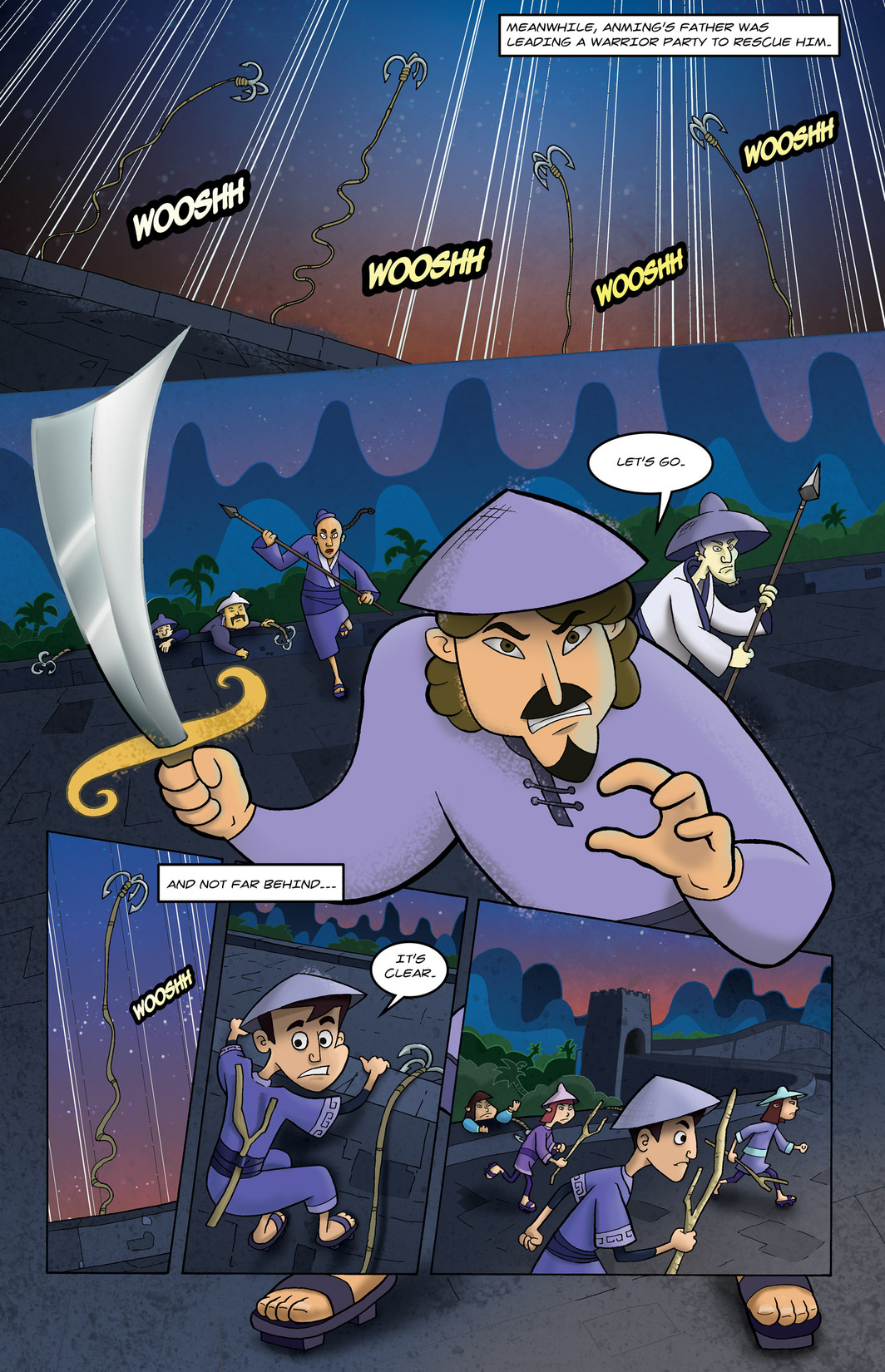 Read online 1001 Nights comic -  Issue #6 - 14