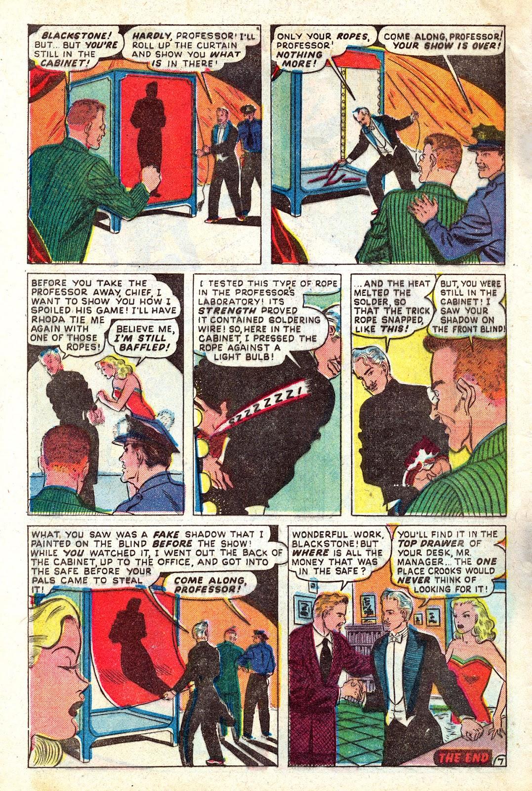 Read online Blackstone the Magician comic -  Issue #4 - 32