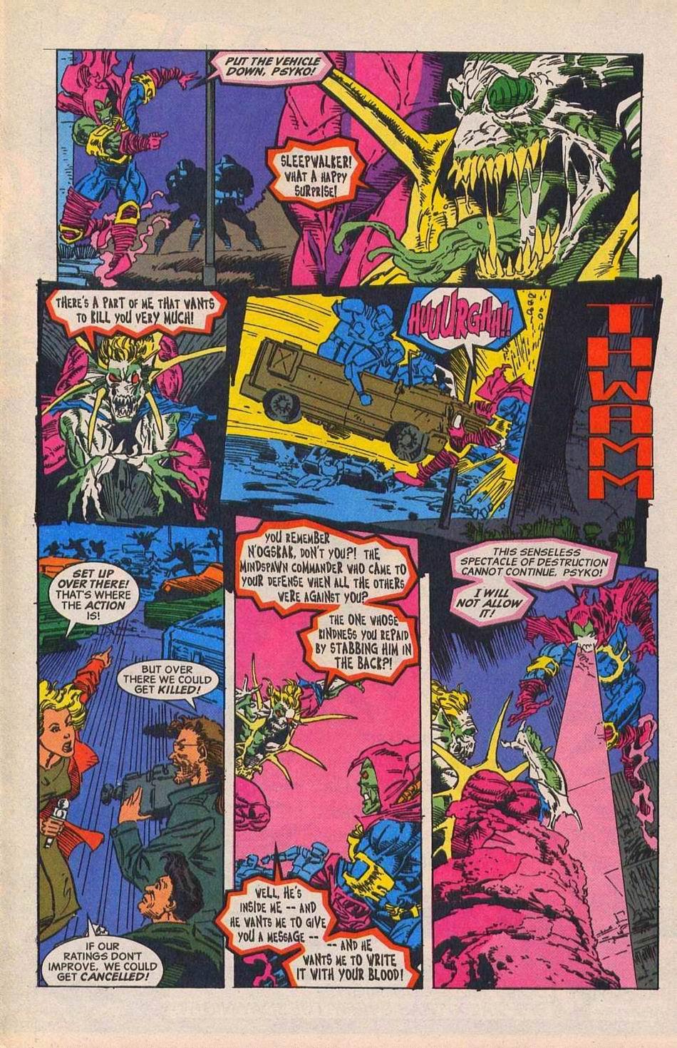 Read online Sleepwalker comic -  Issue #28 - 18