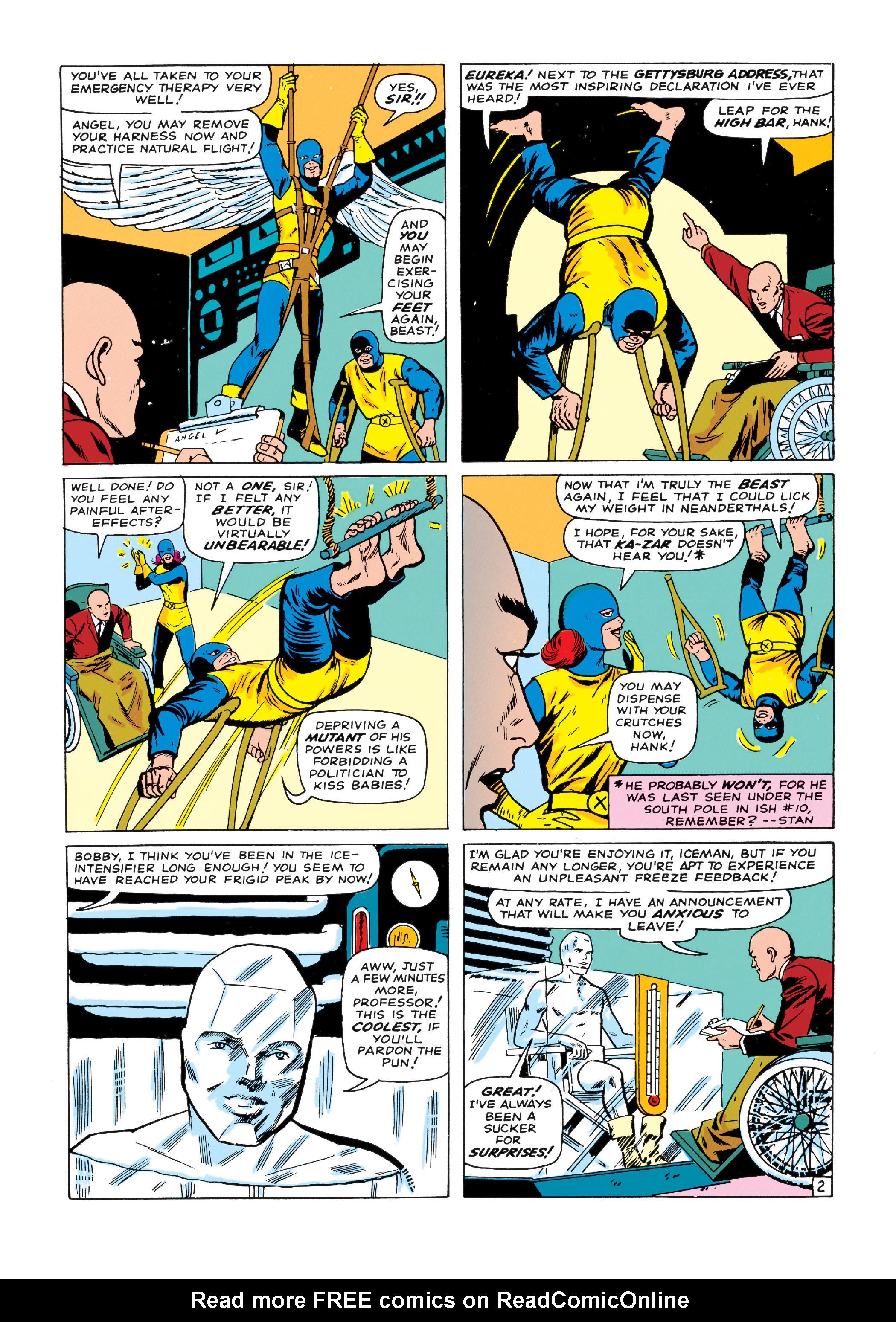 Read online Uncanny X-Men (1963) comic -  Issue #14 - 3
