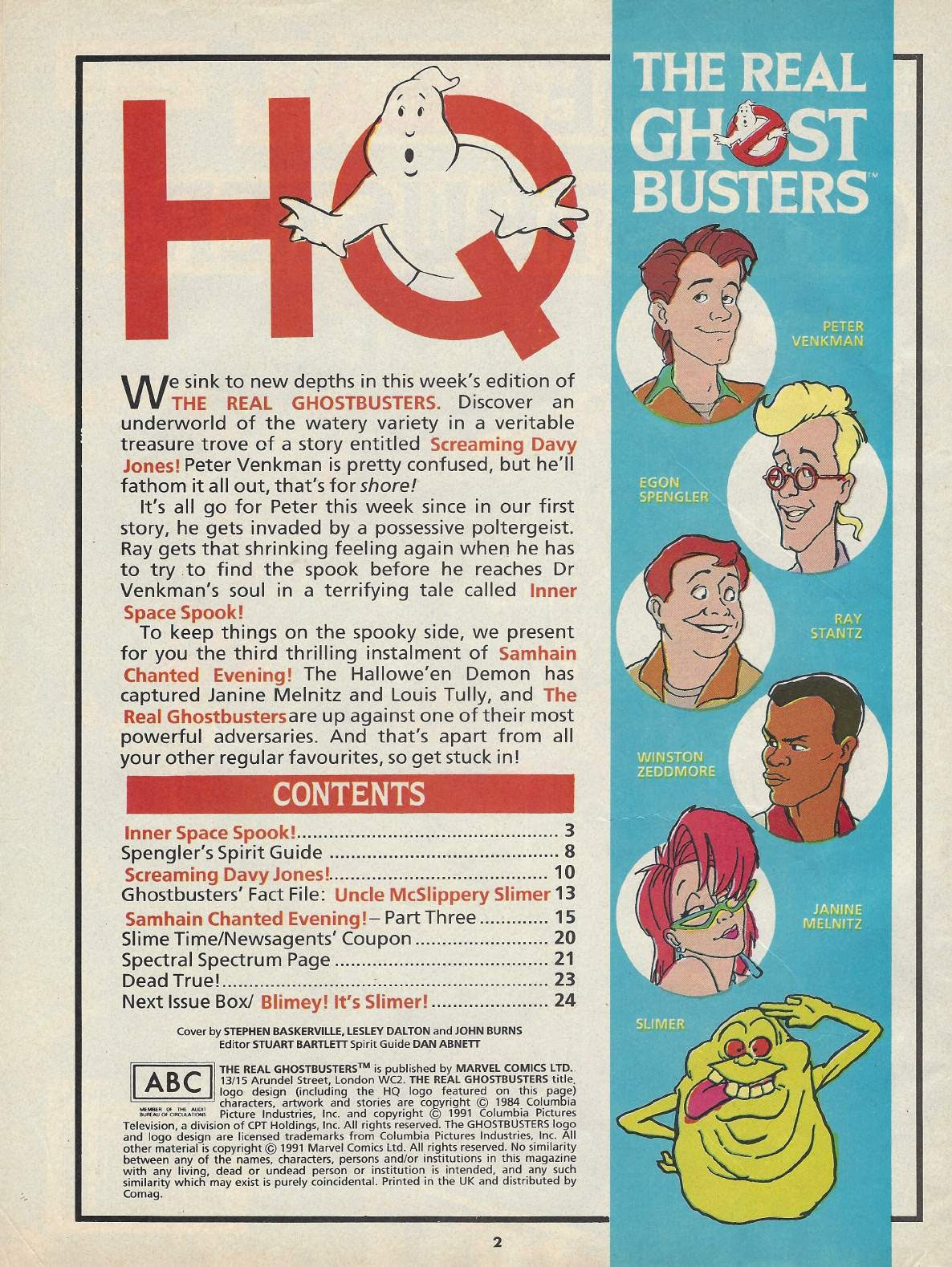 The Real Ghostbusters Issue #148 #131 - English 16