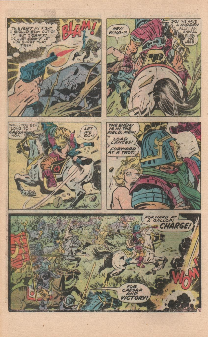 Kamandi, The Last Boy On Earth issue 32 - Page 43