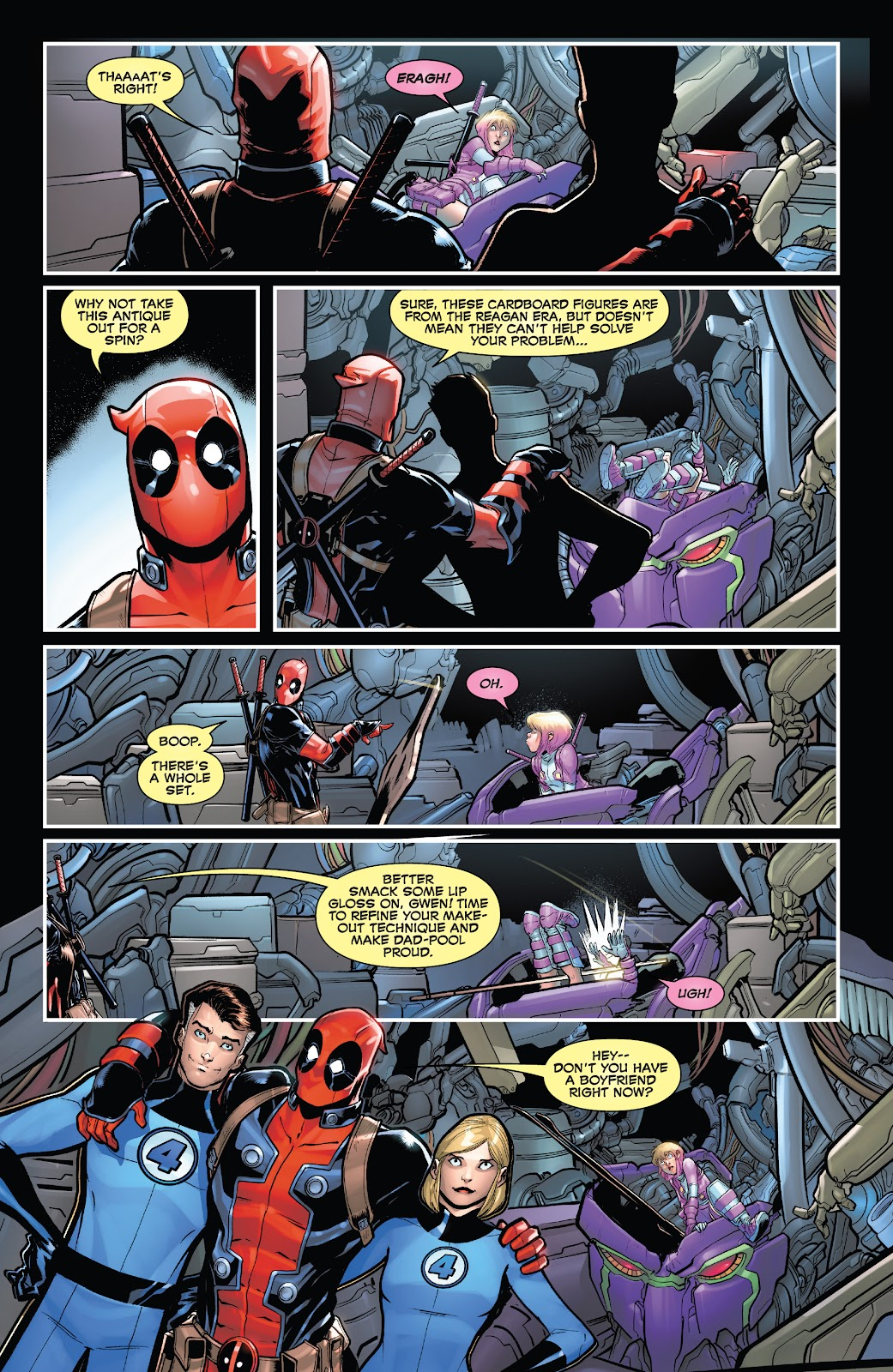 Gwenpool Strikes Back issue 2 - Page 9