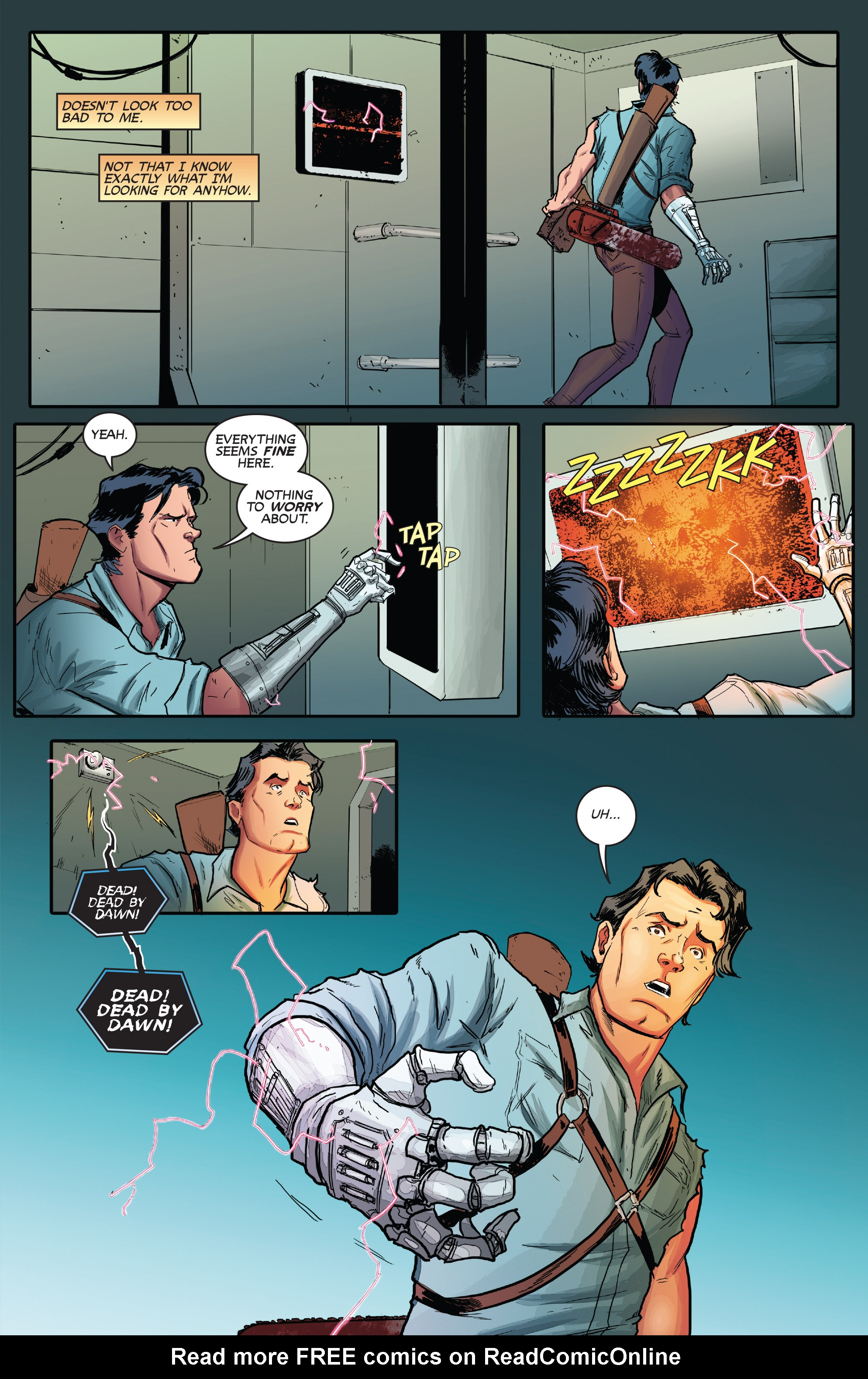 Read online Army of Darkness (2014) comic -  Issue #1 - 26