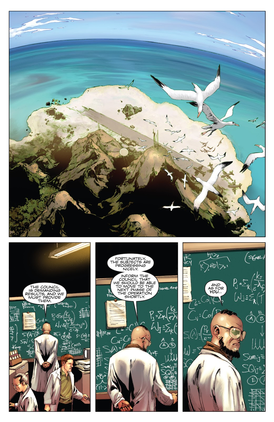 Read online Codename: Action comic -  Issue #3 - 22