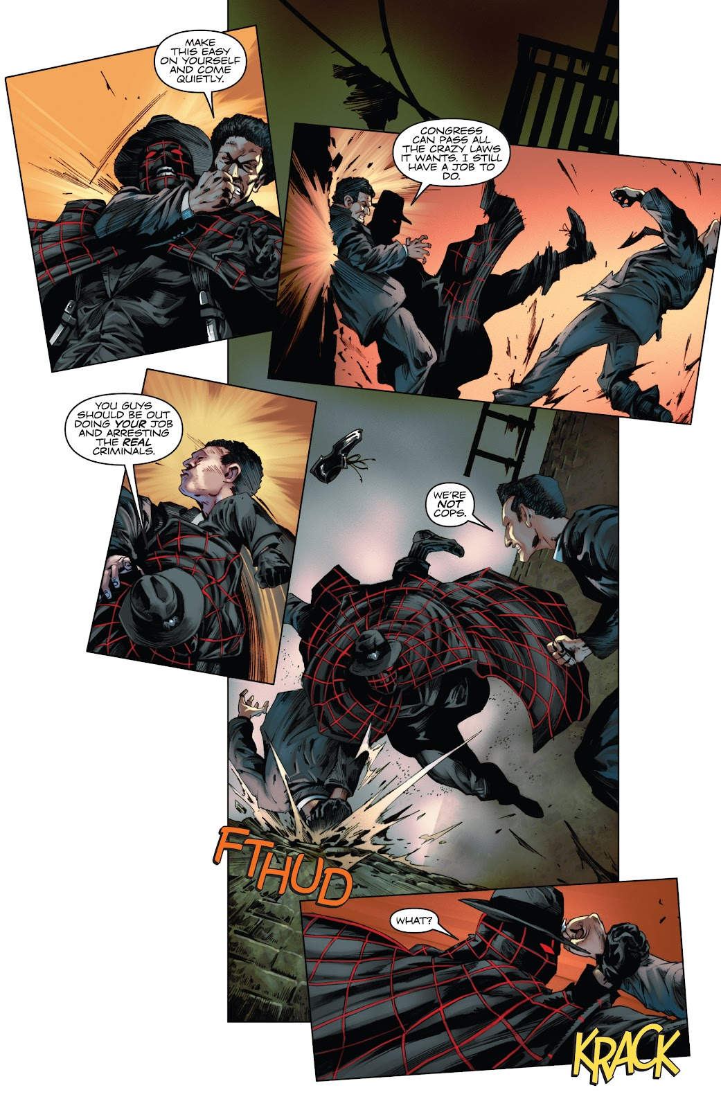 Read online Codename: Action comic -  Issue #3 - 14