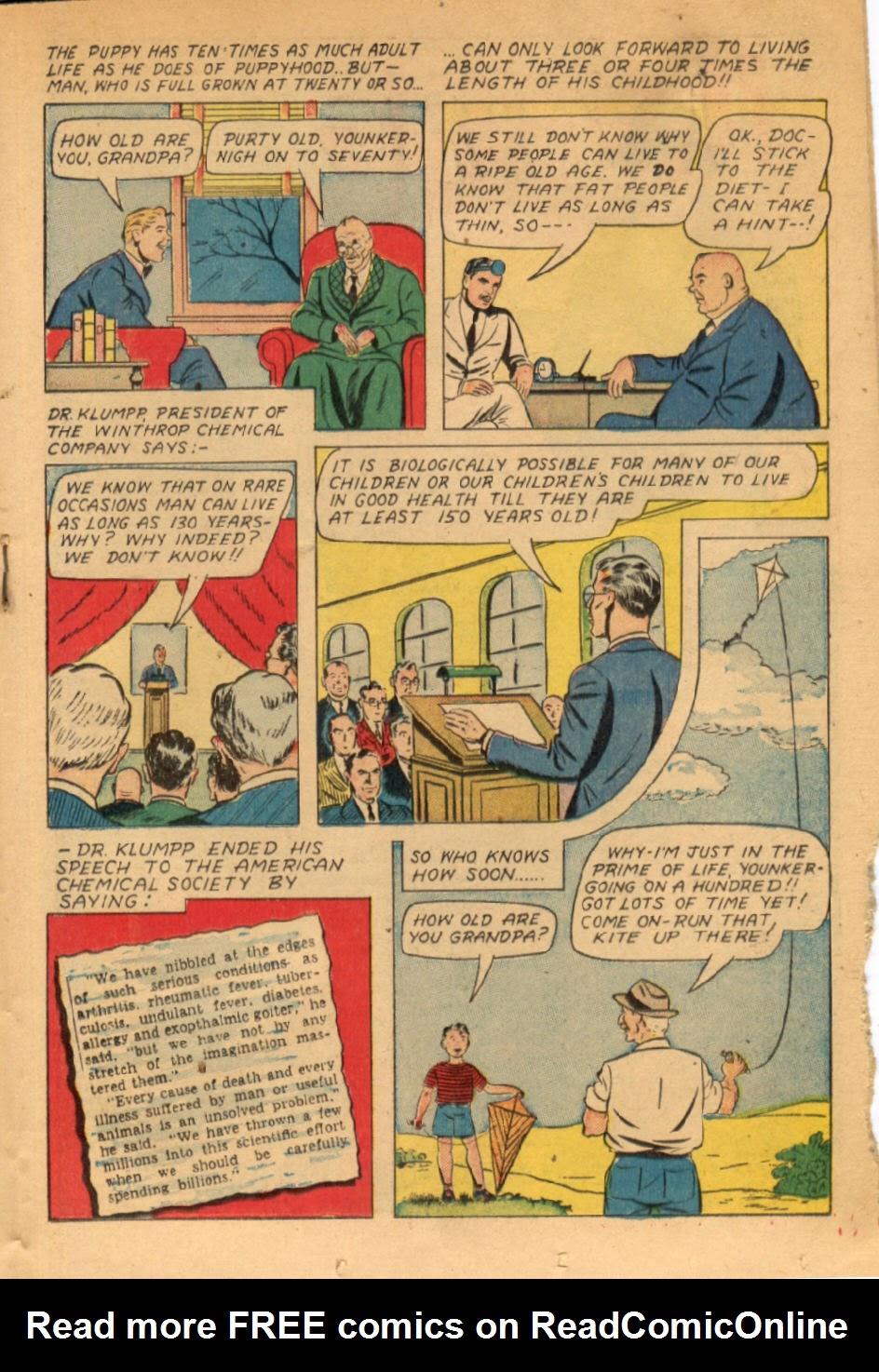 Read online Super-Magician Comics comic -  Issue #43 - 33