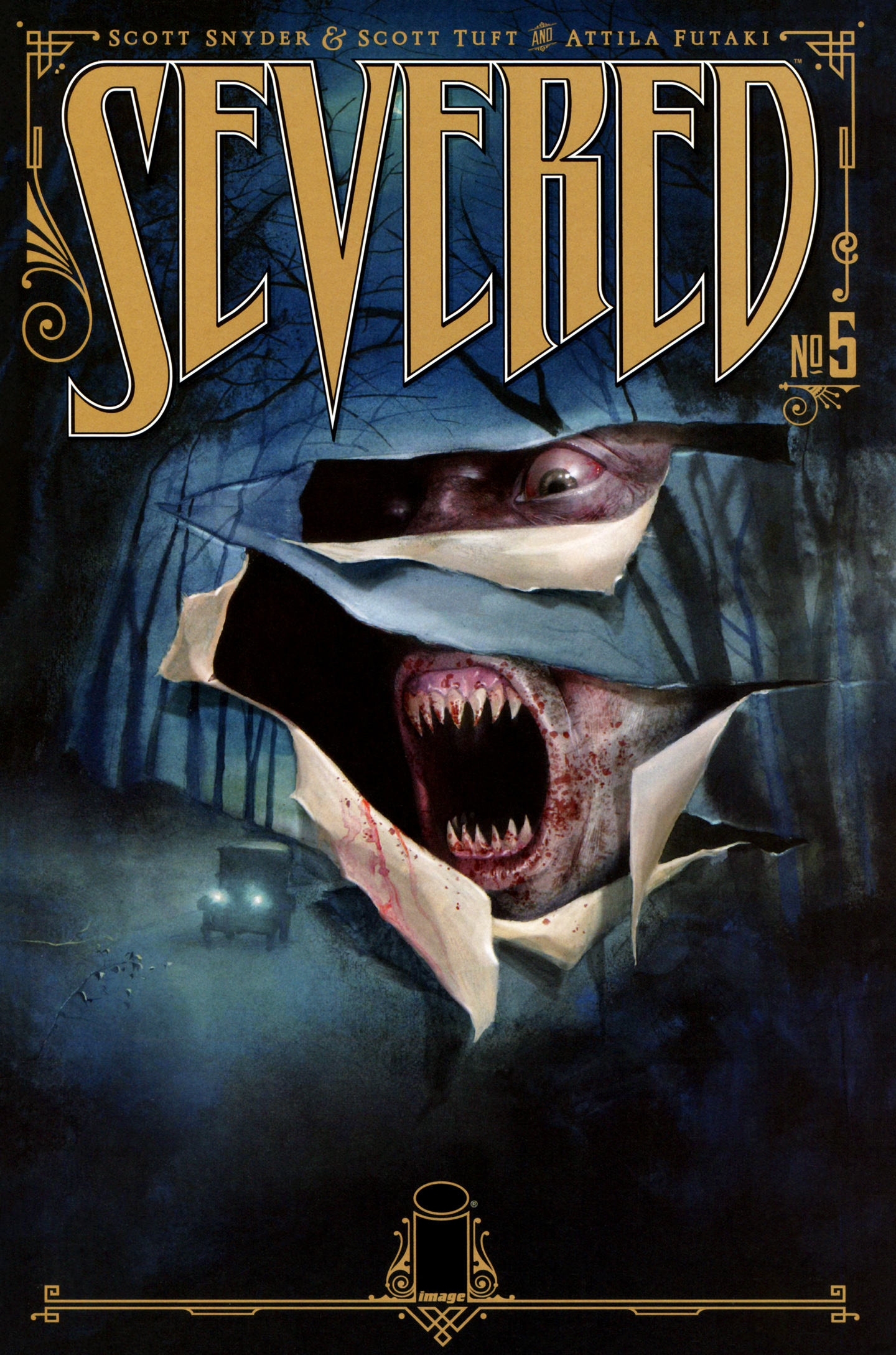 Read online Severed comic -  Issue #5 - 1