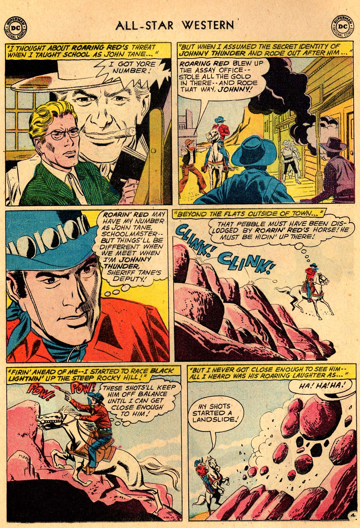 Read online All-Star Western (1951) comic -  Issue #115 - 6