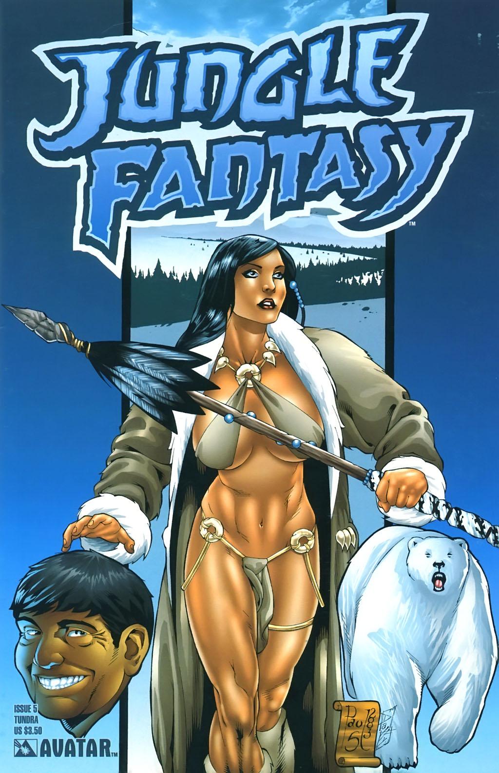Read online Jungle Fantasy (2002) comic -  Issue #5 - 2