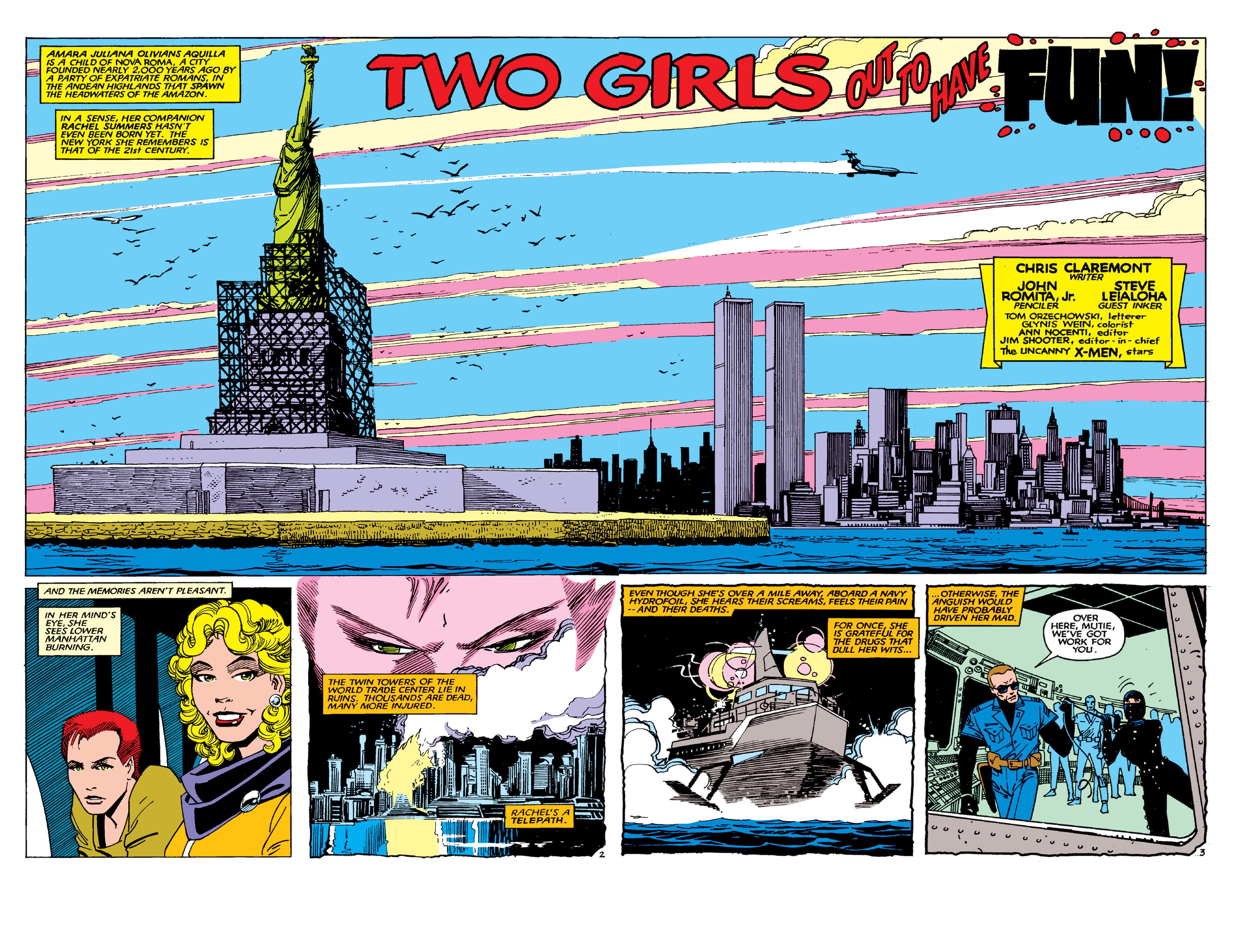 Uncanny X-Men (1963) 189 Page 2