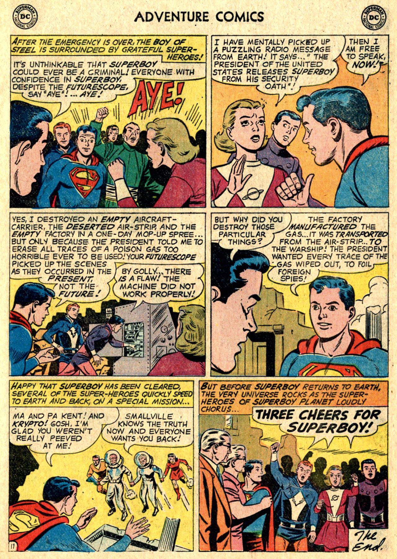 Read online Adventure Comics (1938) comic -  Issue #267 - 13