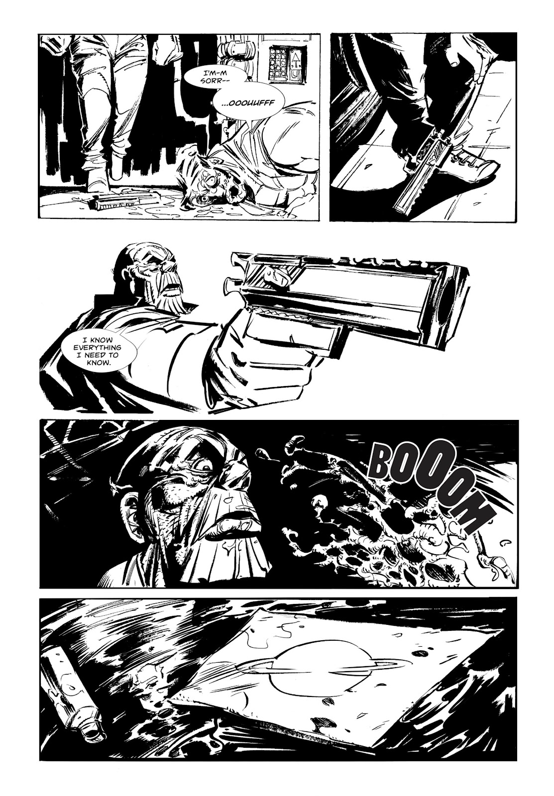 Read online Wrath of God comic -  Issue # _TPB - 23