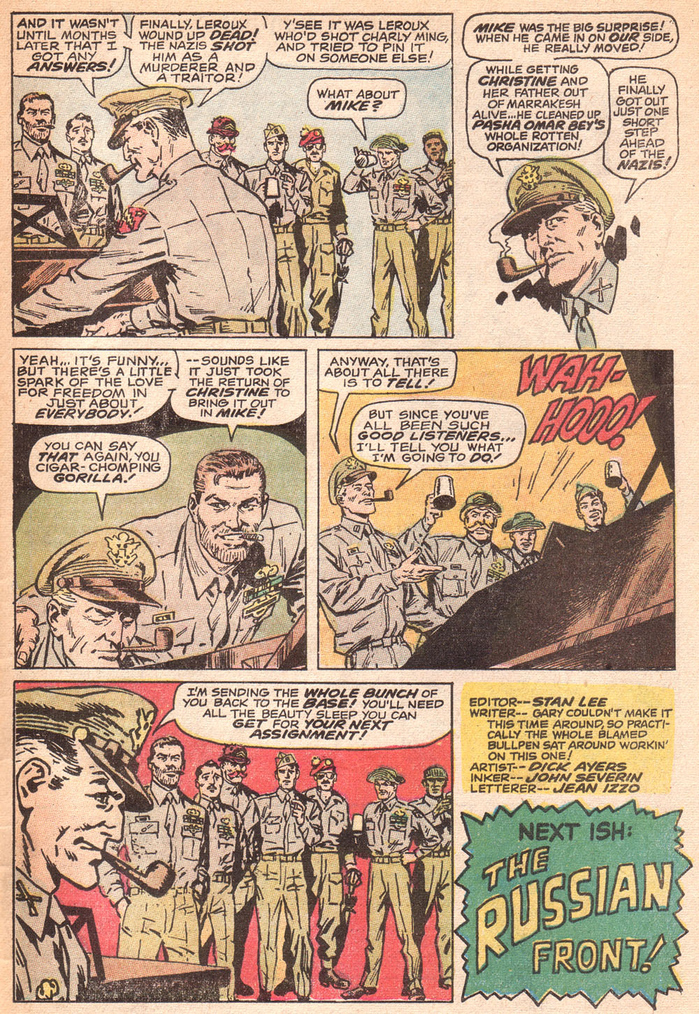 Read online Sgt. Fury comic -  Issue #72 - 33