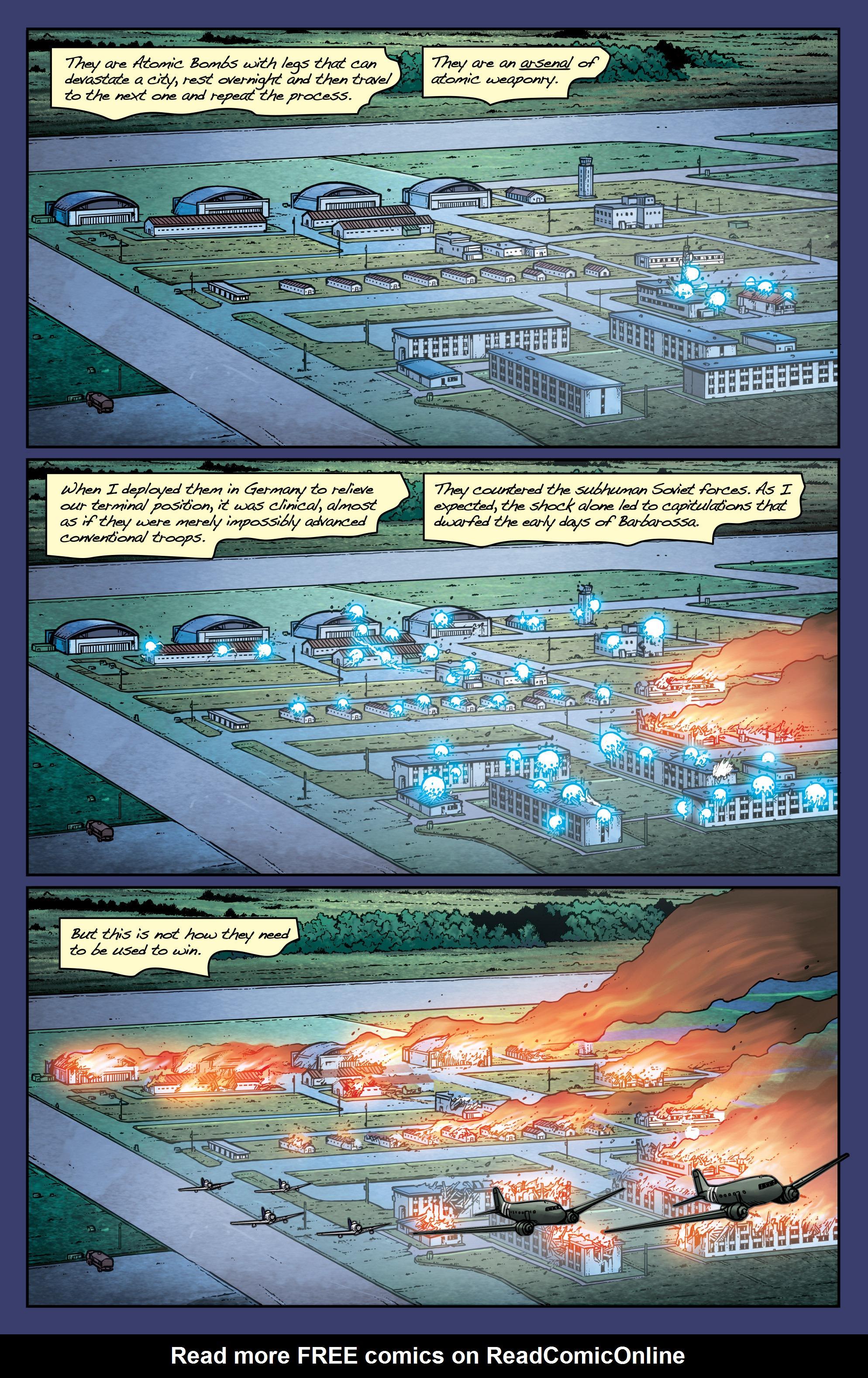 Read online Uber: Invasion comic -  Issue #1 - 9