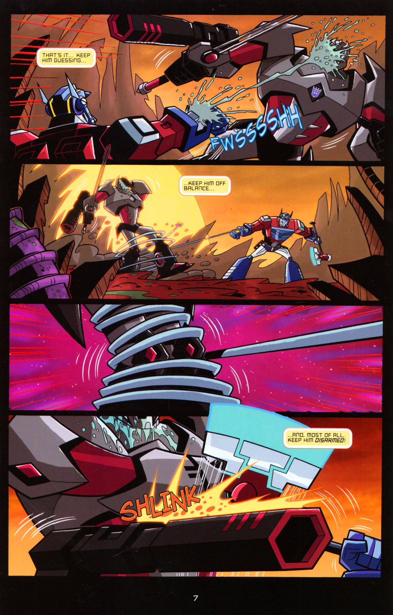 Read online Transformers Animated: The Arrival comic -  Issue #5 - 11