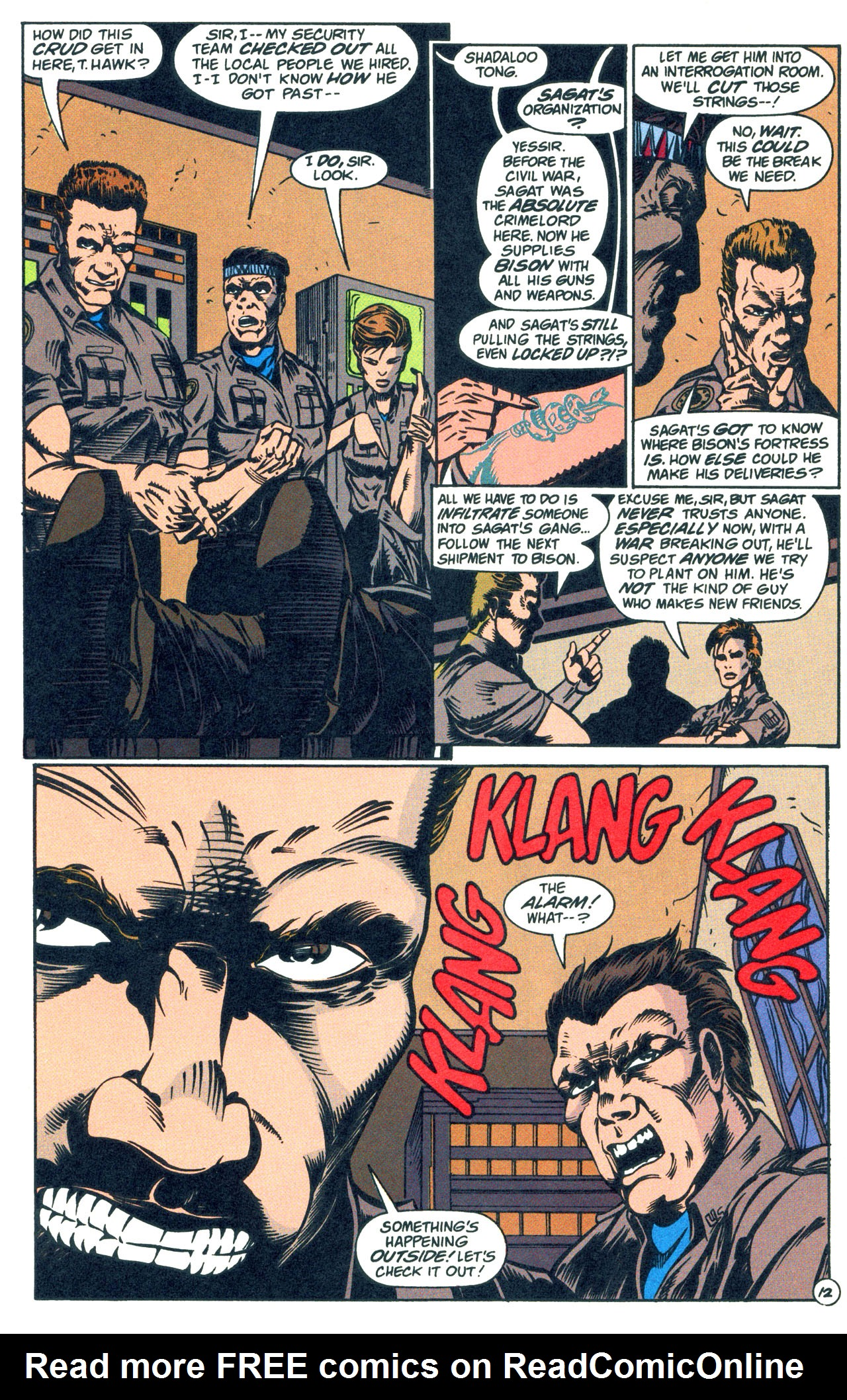 Read online Street Fighter: The Battle For Shadaloo comic -  Issue # Full - 13