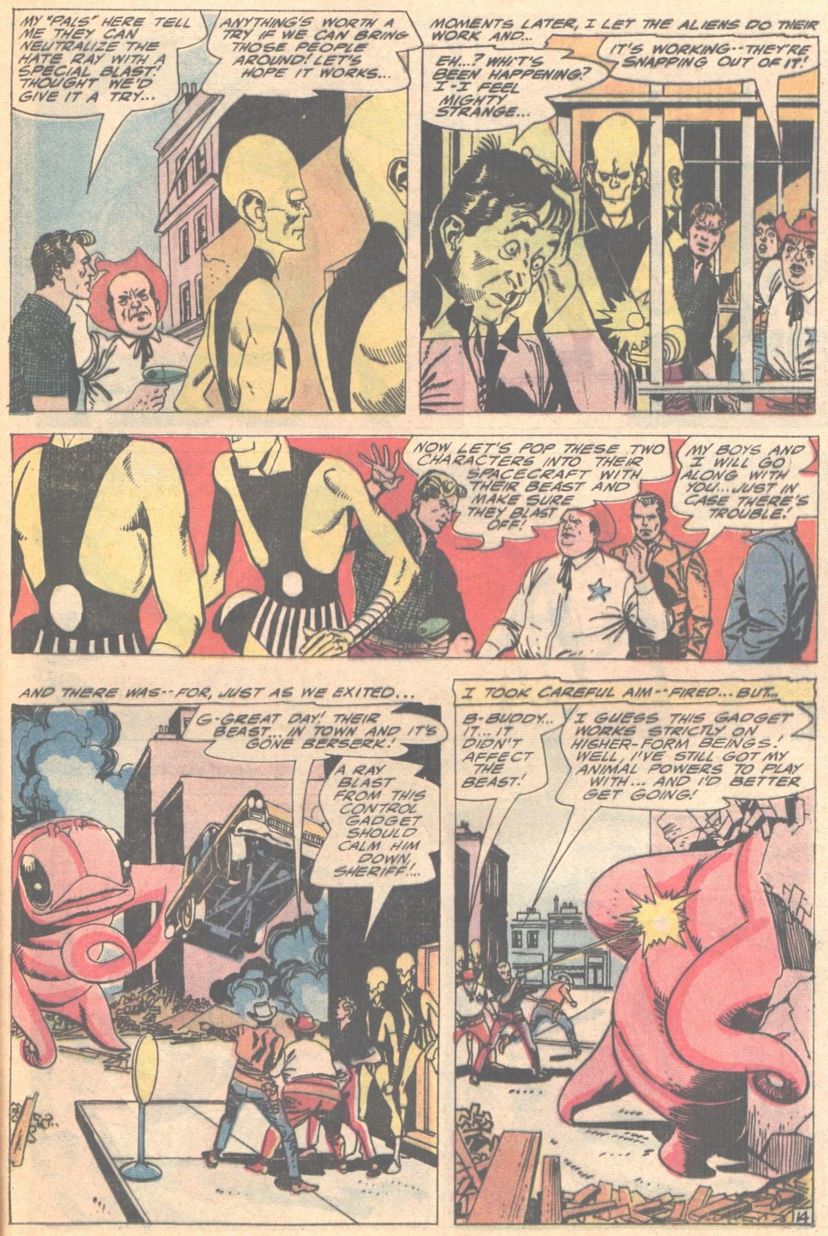 Read online Adventure Comics (1938) comic -  Issue #414 - 37