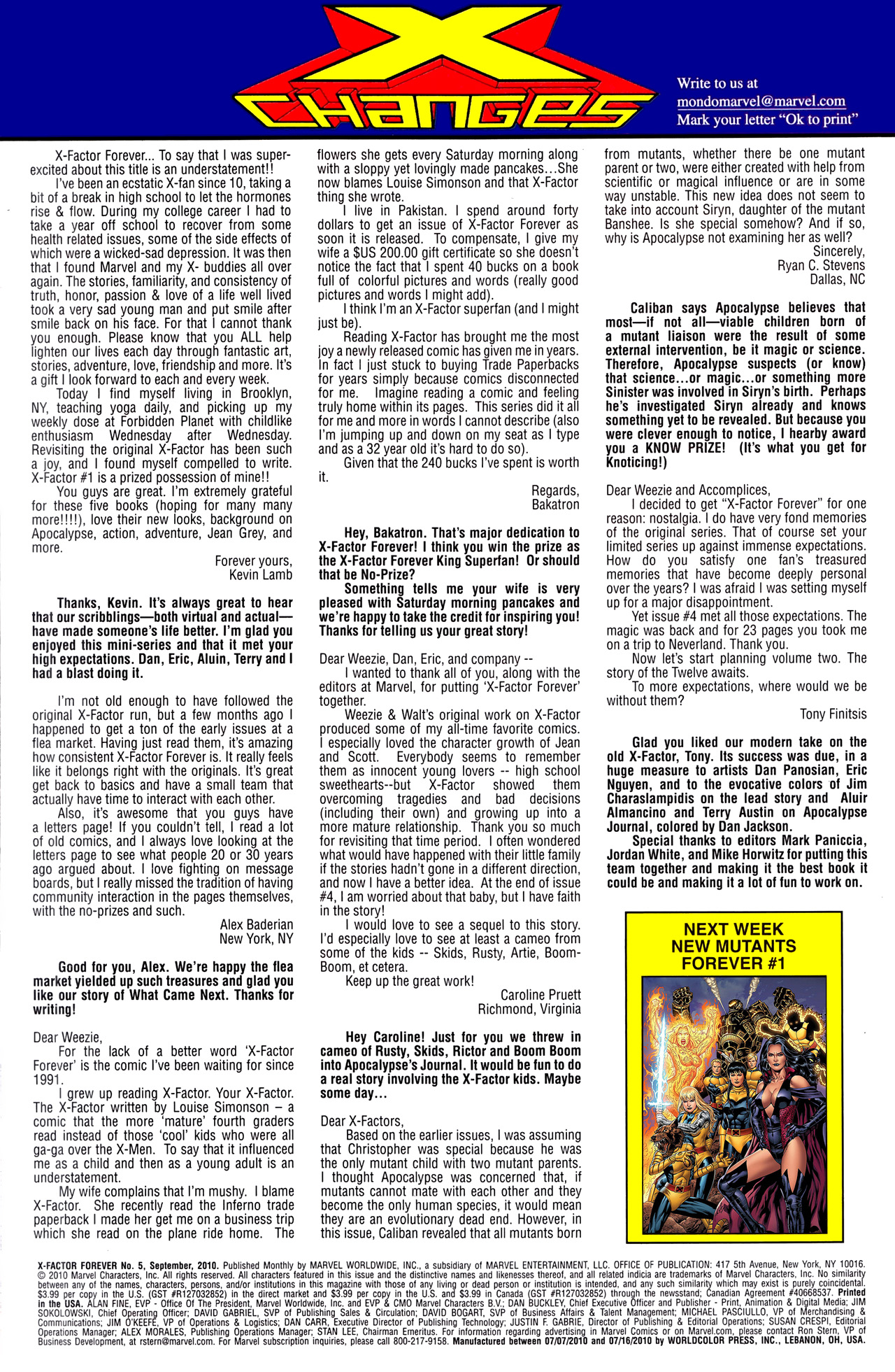 Read online X-Factor Forever comic -  Issue #5 - 25