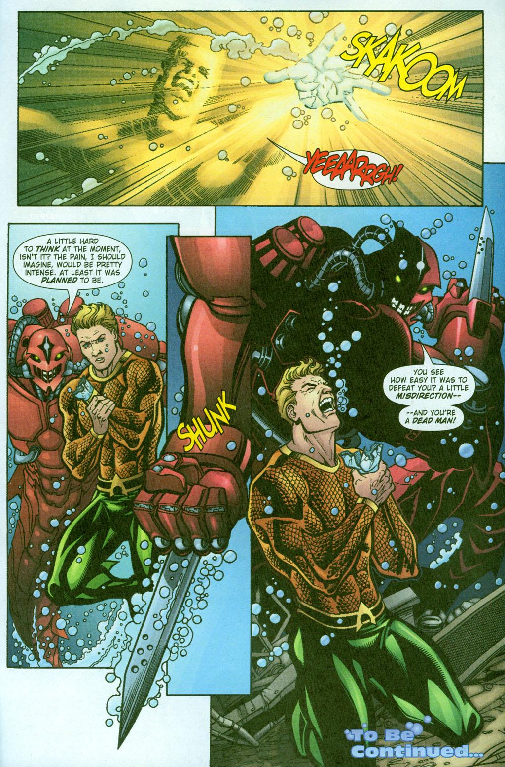 Read online Aquaman (2003) comic -  Issue #23 - 22
