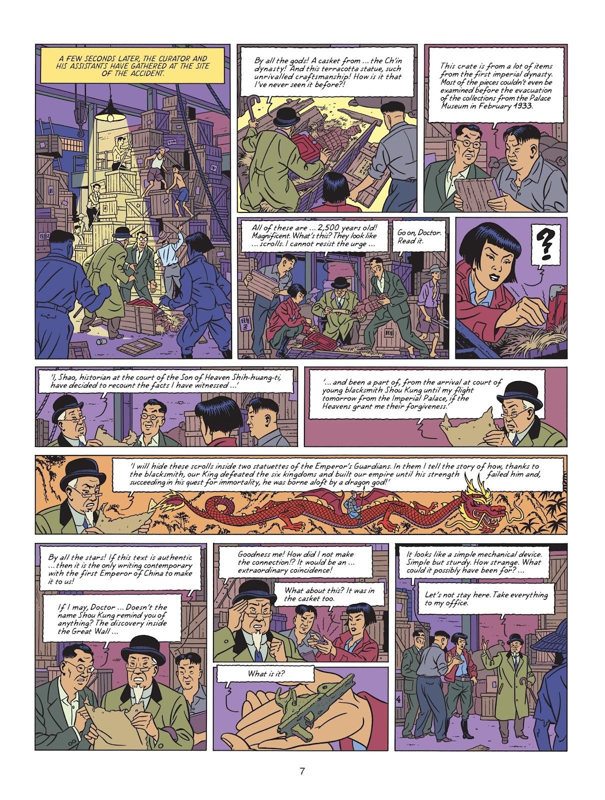Read online Blake & Mortimer comic -  Issue #25 - 9