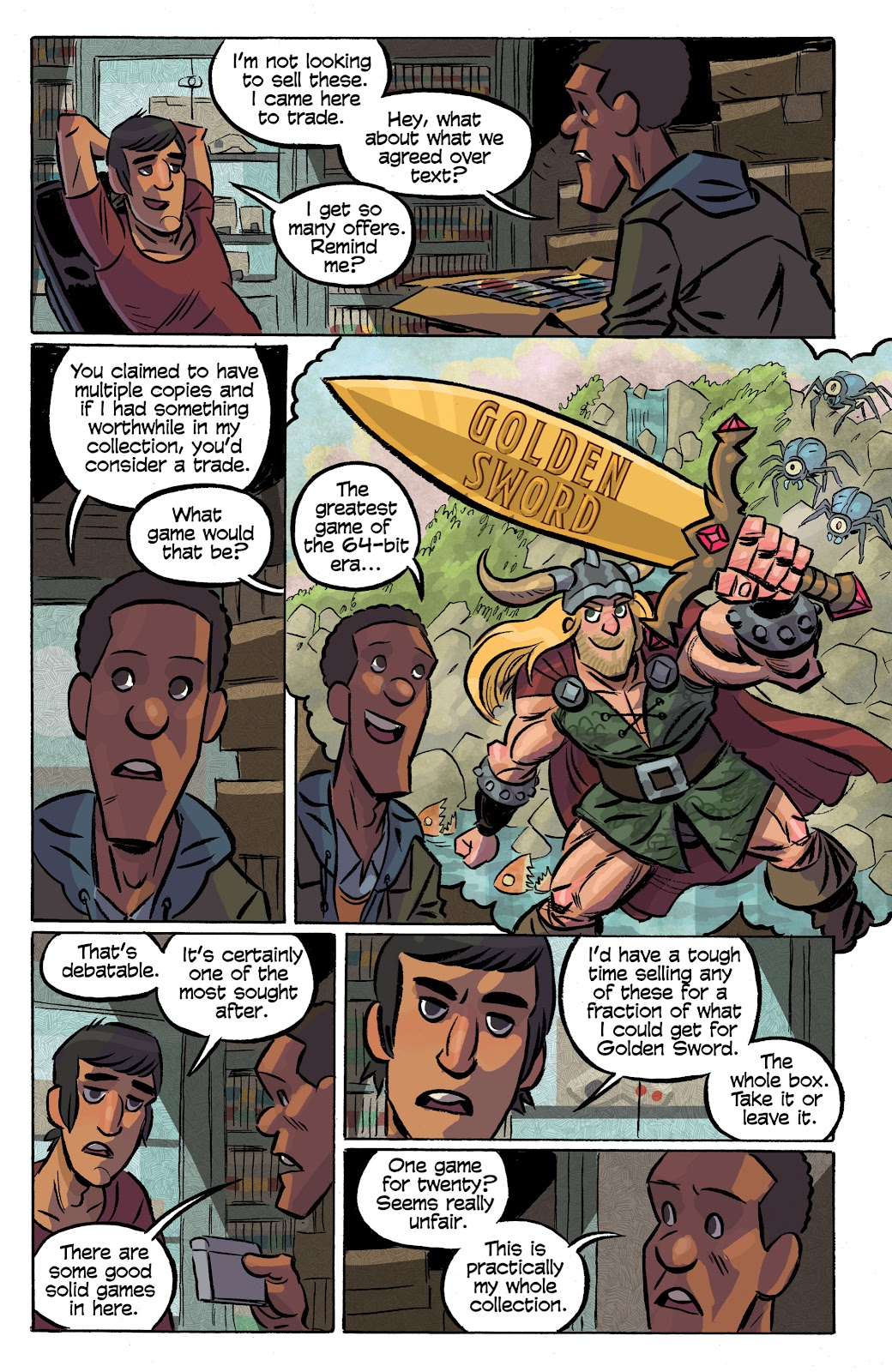 Read online Cellies comic -  Issue #8 - 18
