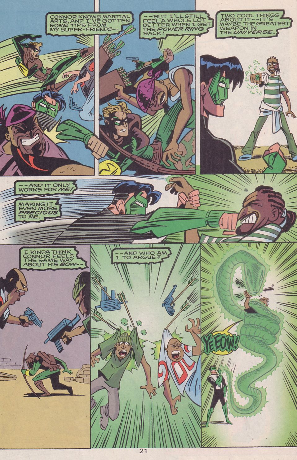 Read online Adventures in the DC Universe comic -  Issue #16 - 22