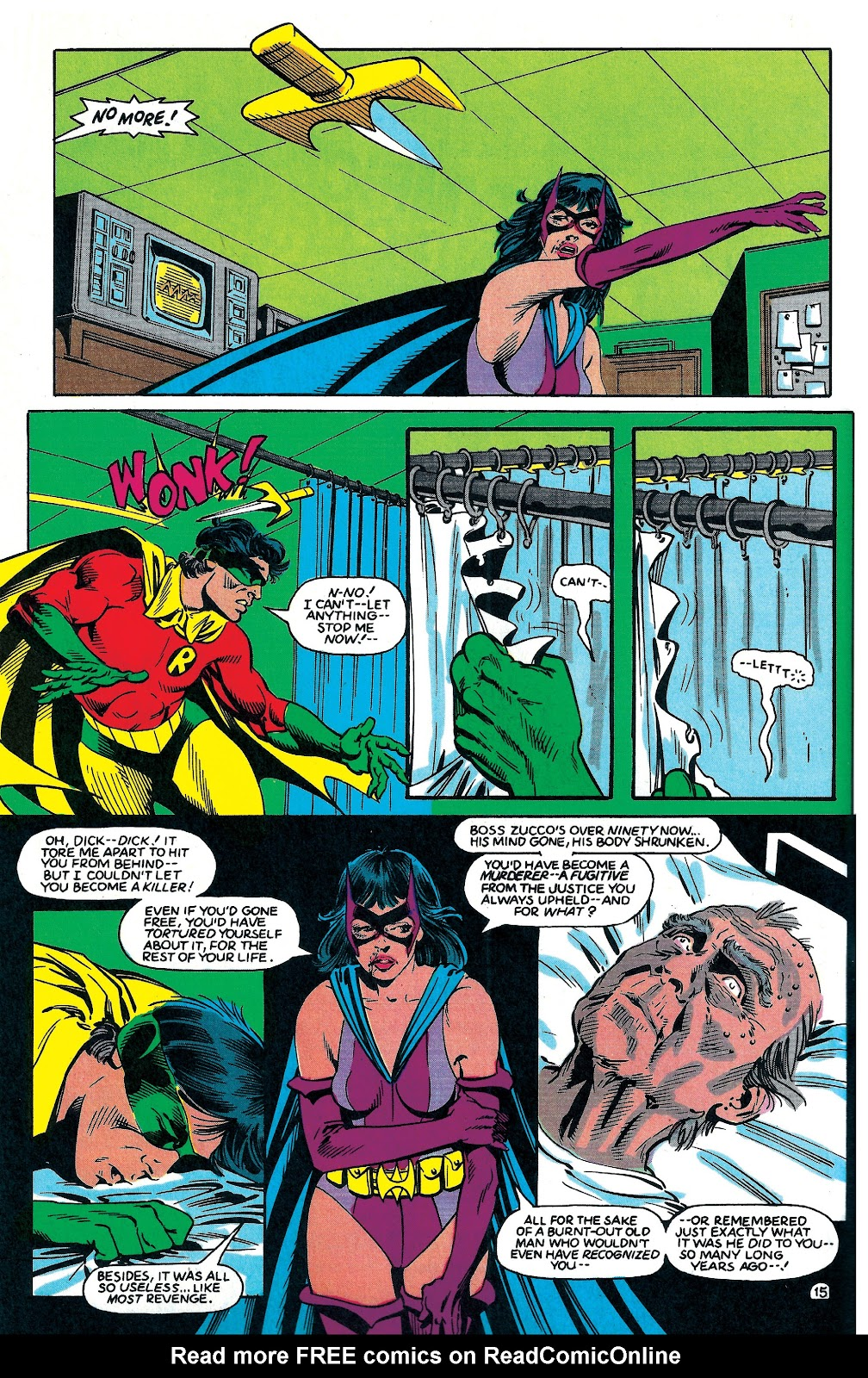 Infinity Inc. (1984) issue 6 - Page 16