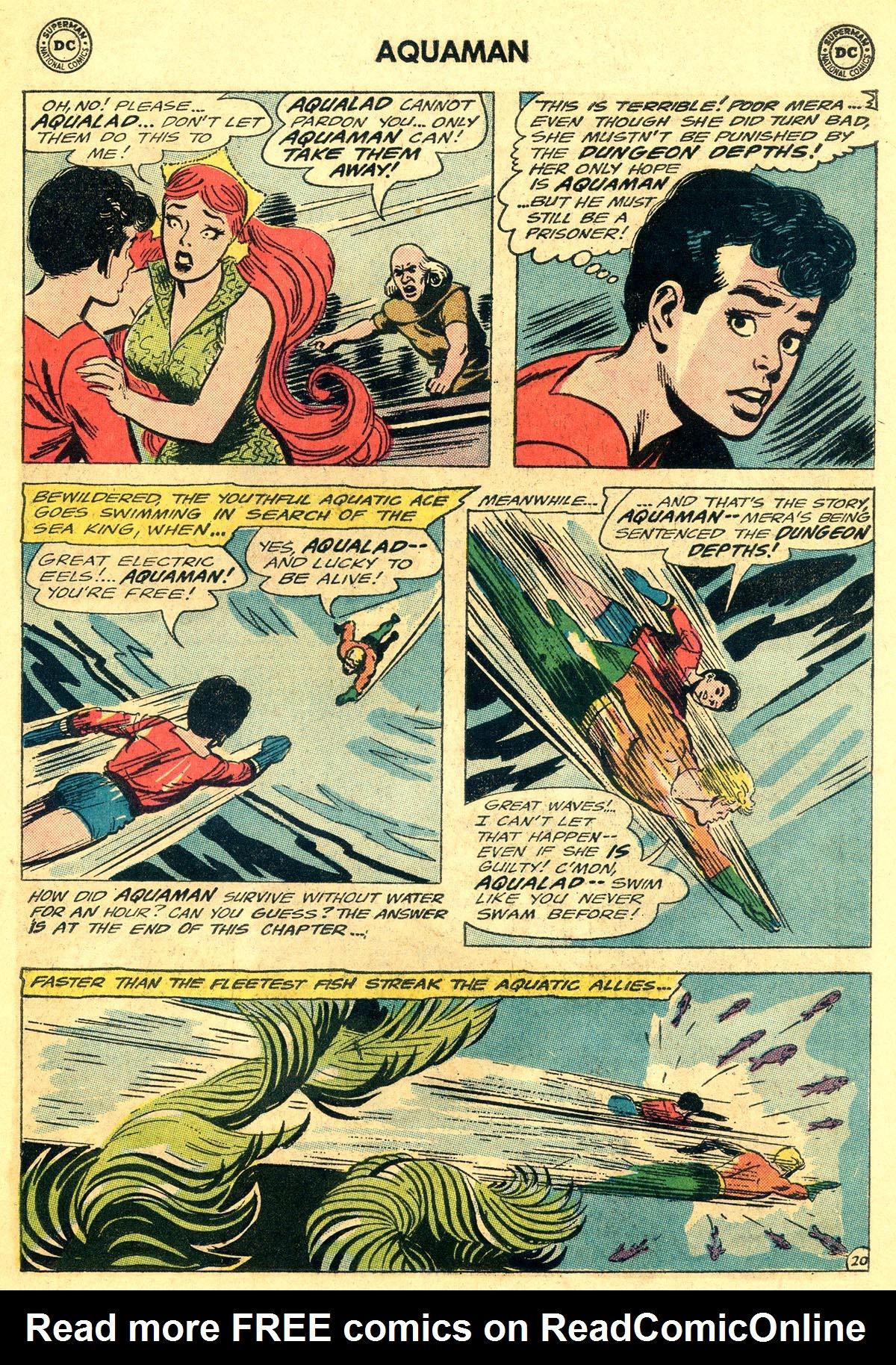 Read online Aquaman (1962) comic -  Issue #19 - 27